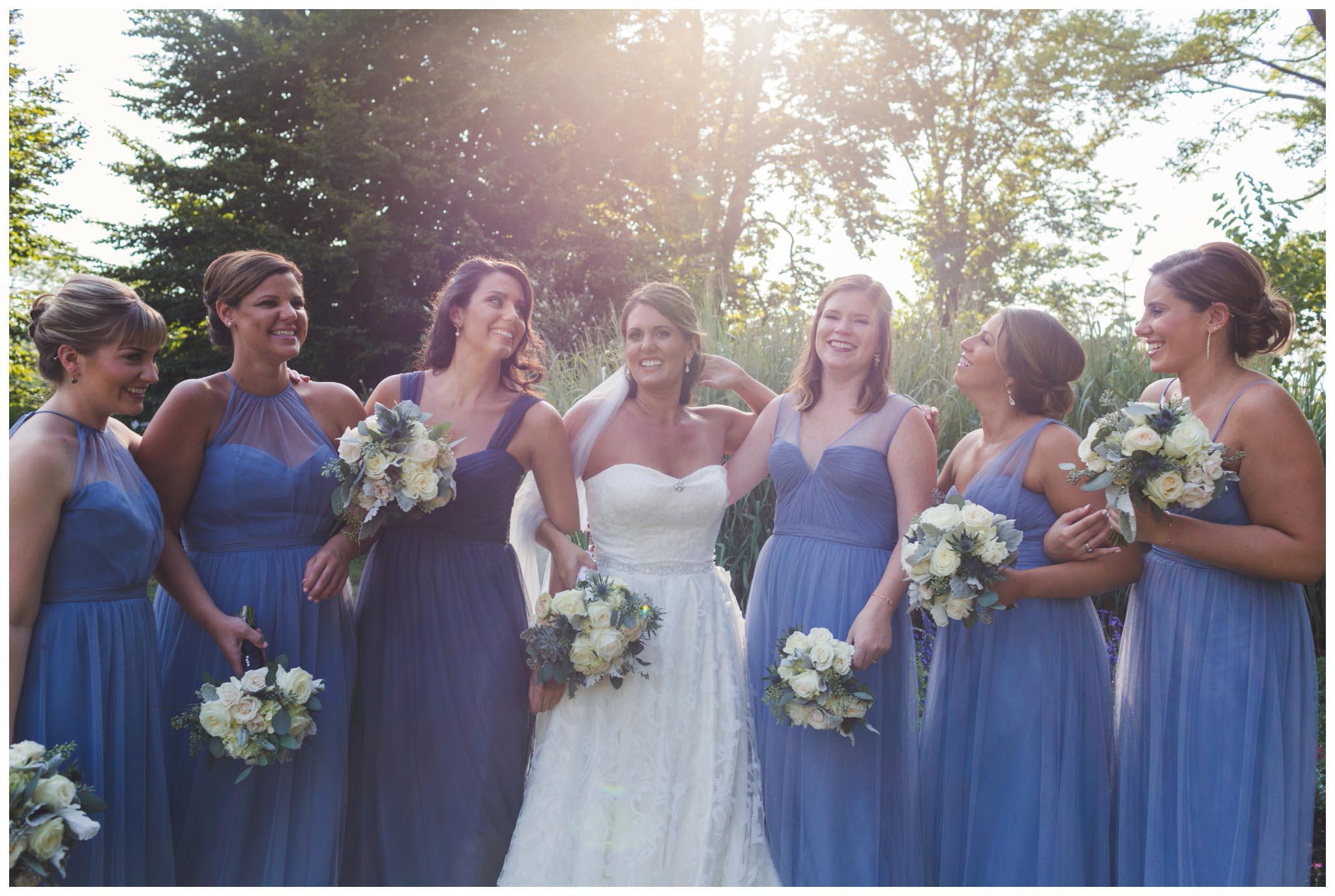 bridal party, wedding, Philadelphia