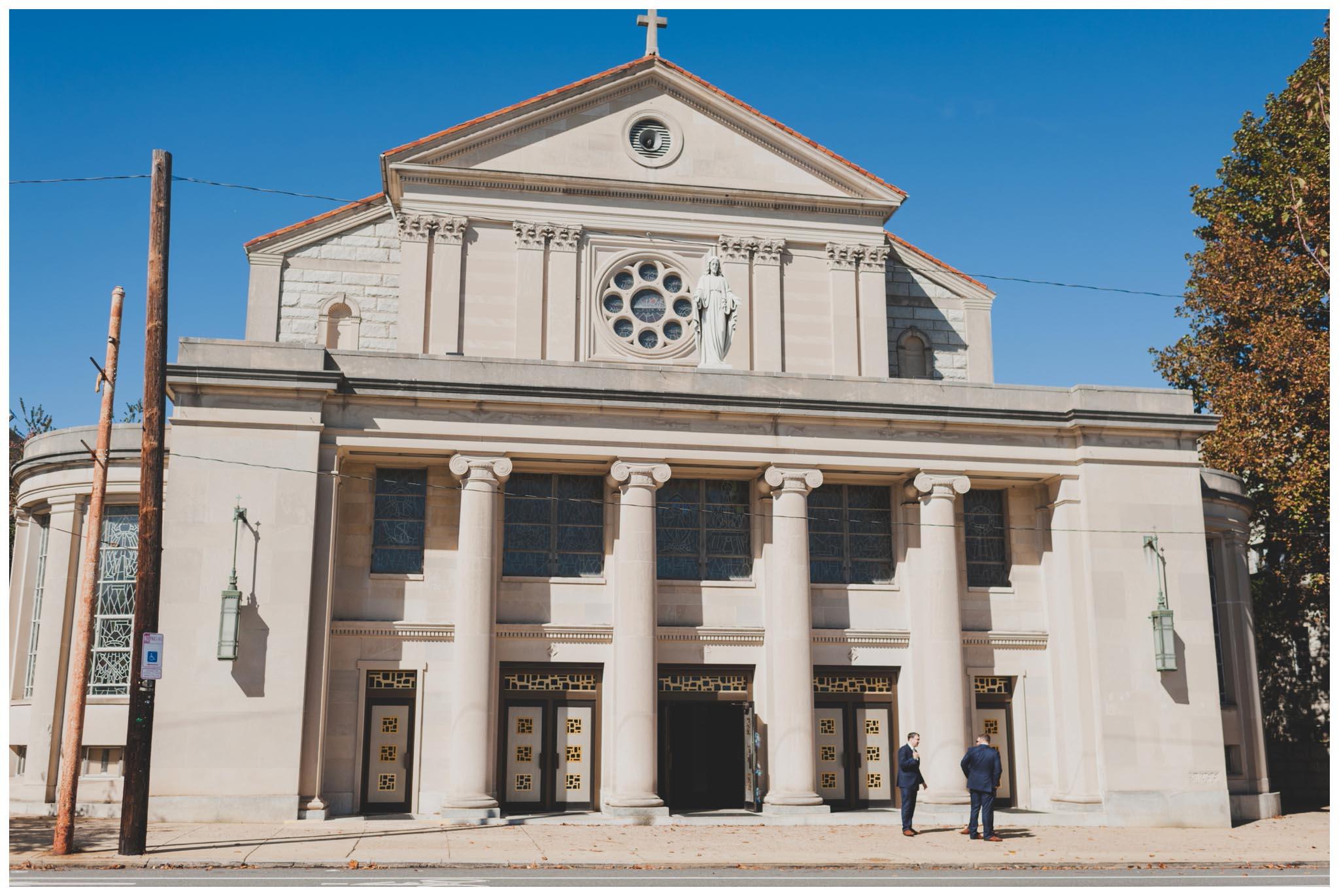 St. William Church, wedding, Philadelphia