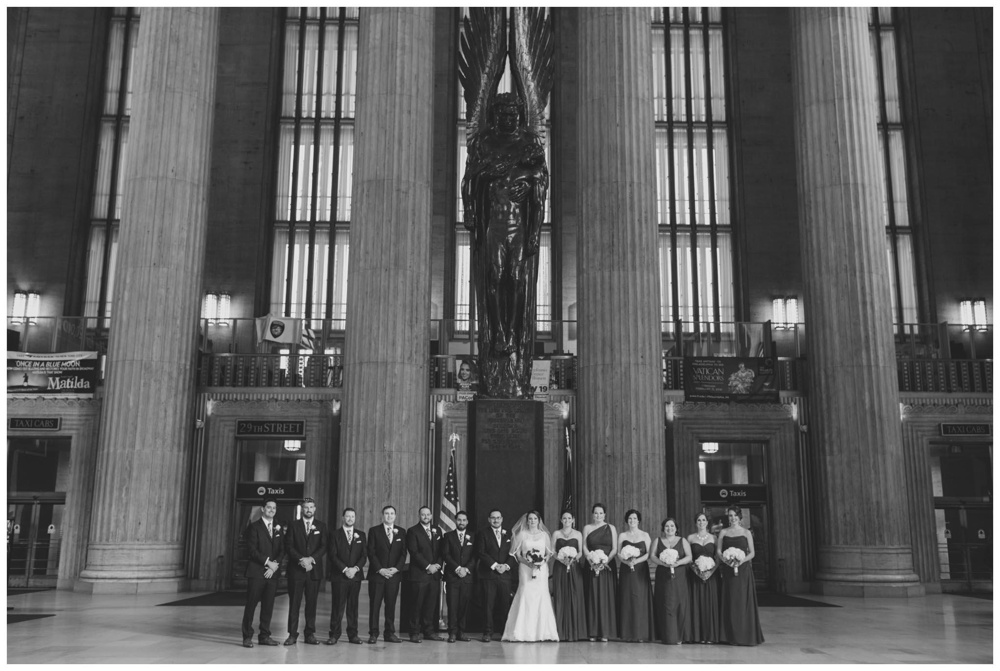 30th Street Station, wedding, Philadelphia