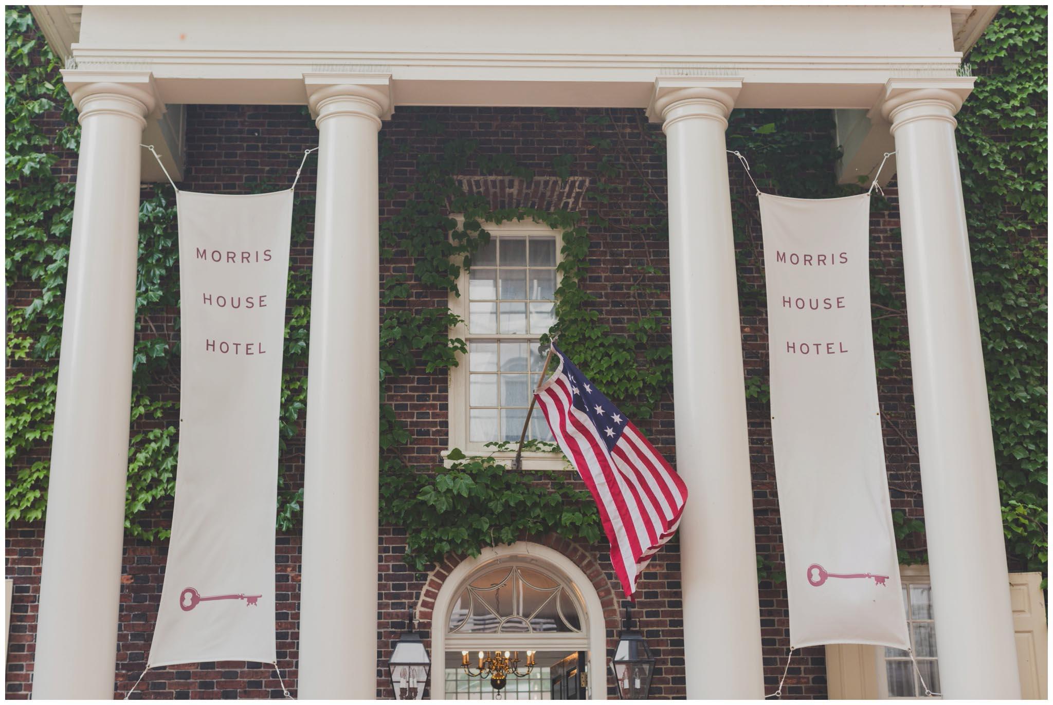Morris House Hotel, wedding