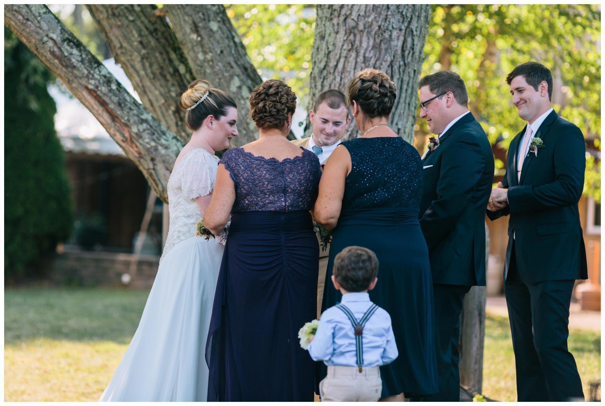 Rose Bank Winery, wedding, Bucks County