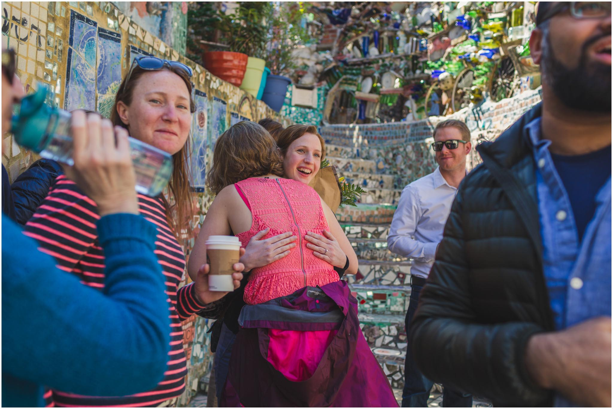 Philadelphia's Magic Gardens, proposal, engagement