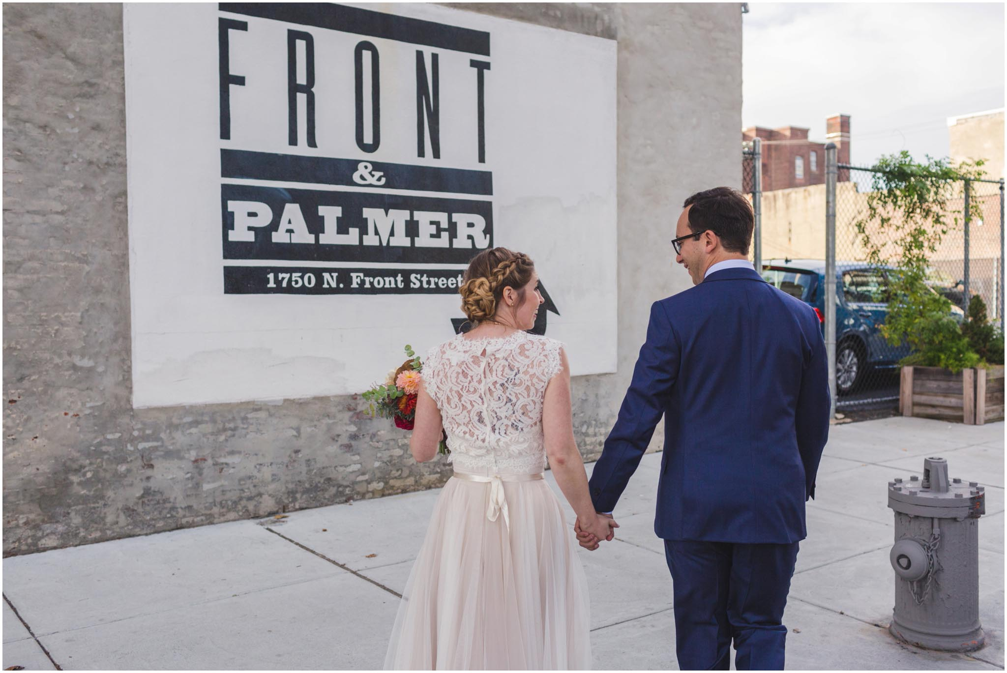 Front and Palmer, wedding, Philadelphia