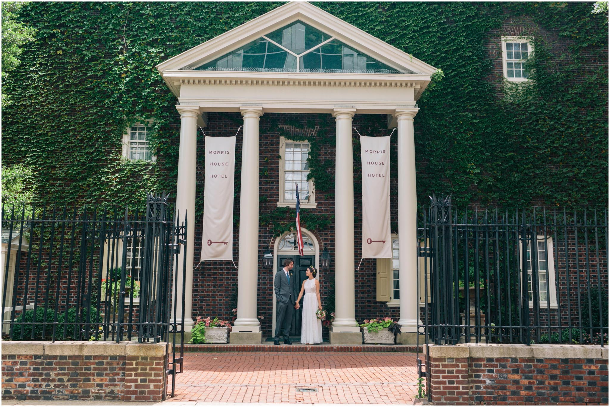 Morris House Hotel, Philadelphia, wedding