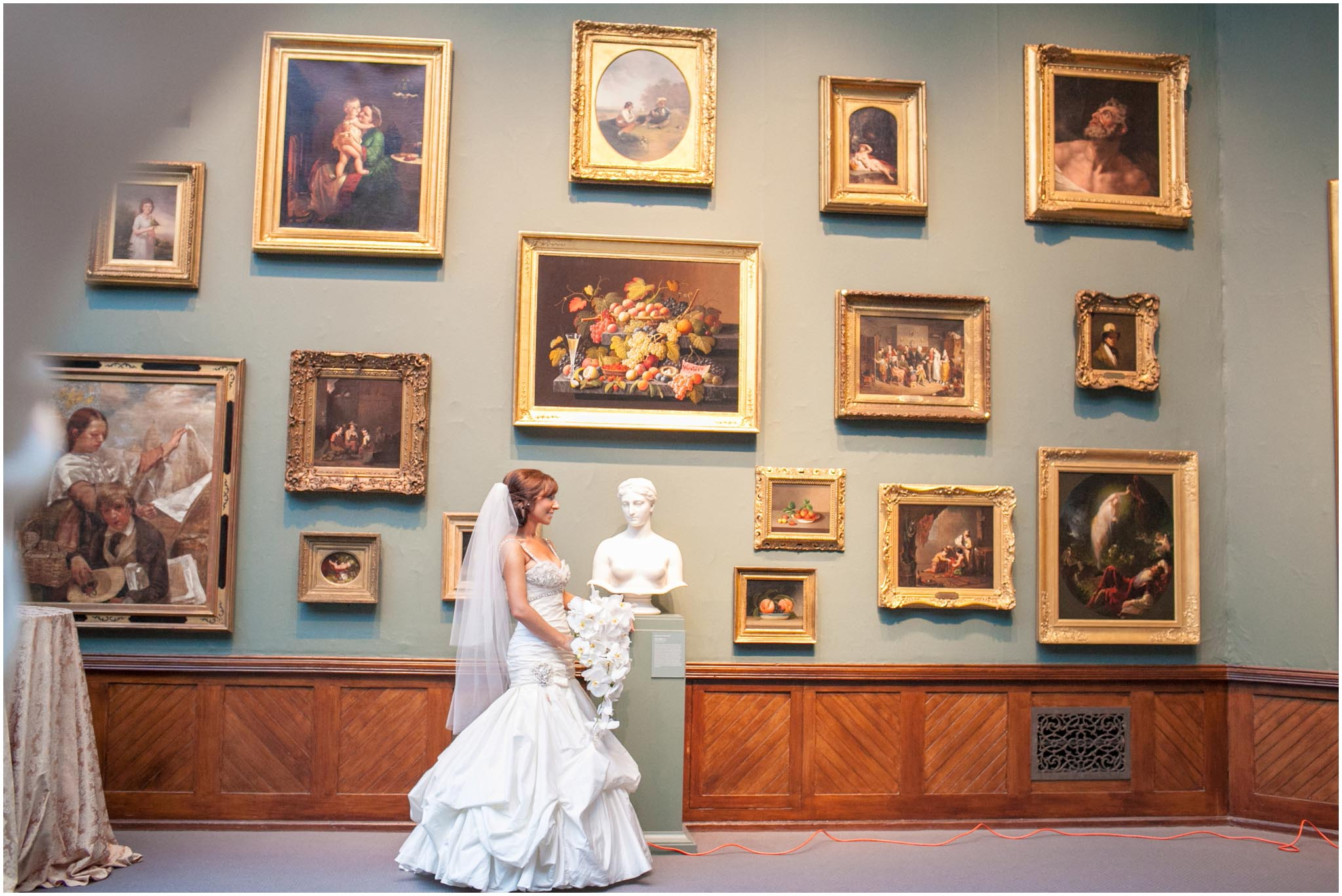 Pennsylvania Academy of the Fine Arts, PAFA, wedding