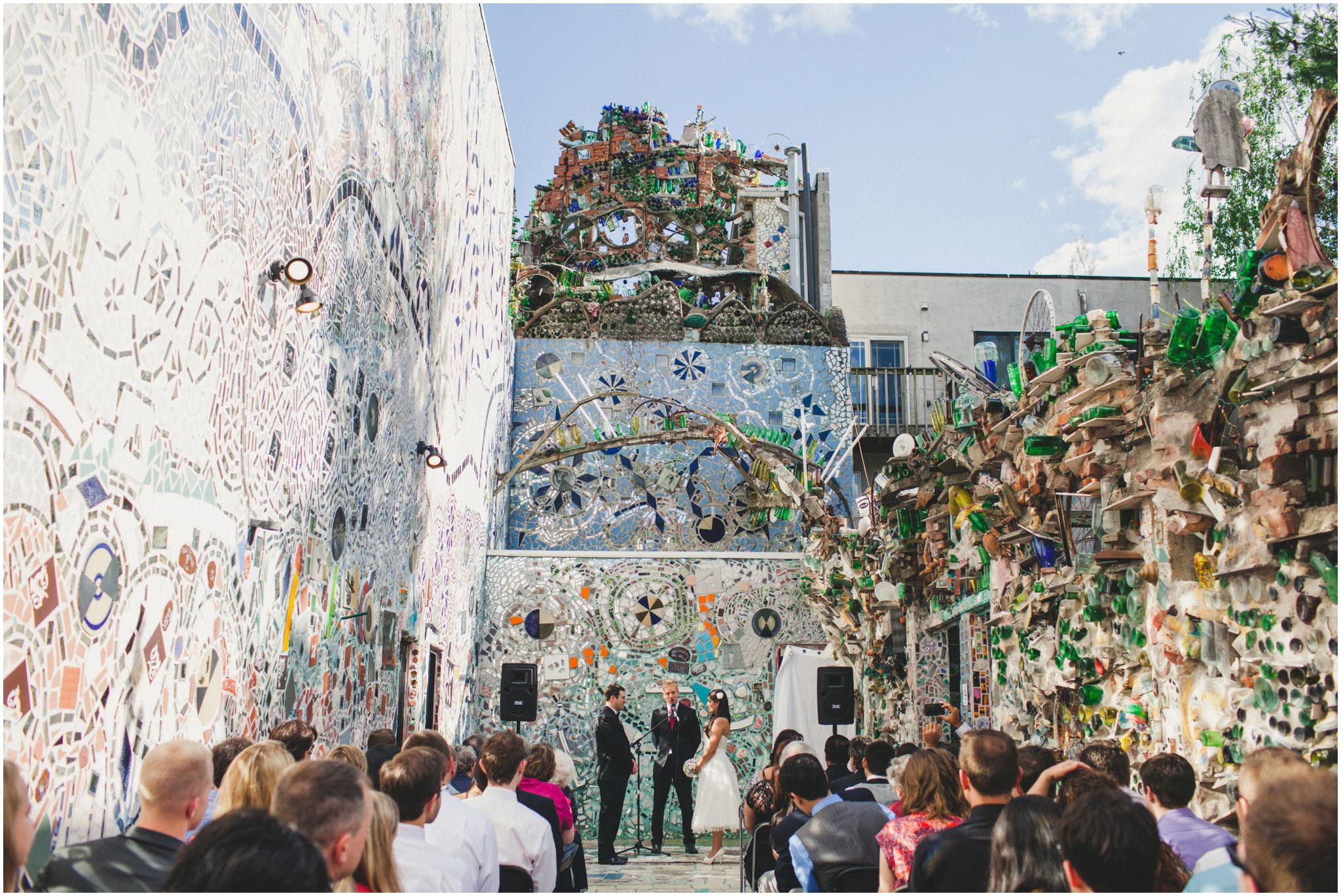 Philadelphia's Magic Gardens, wedding
