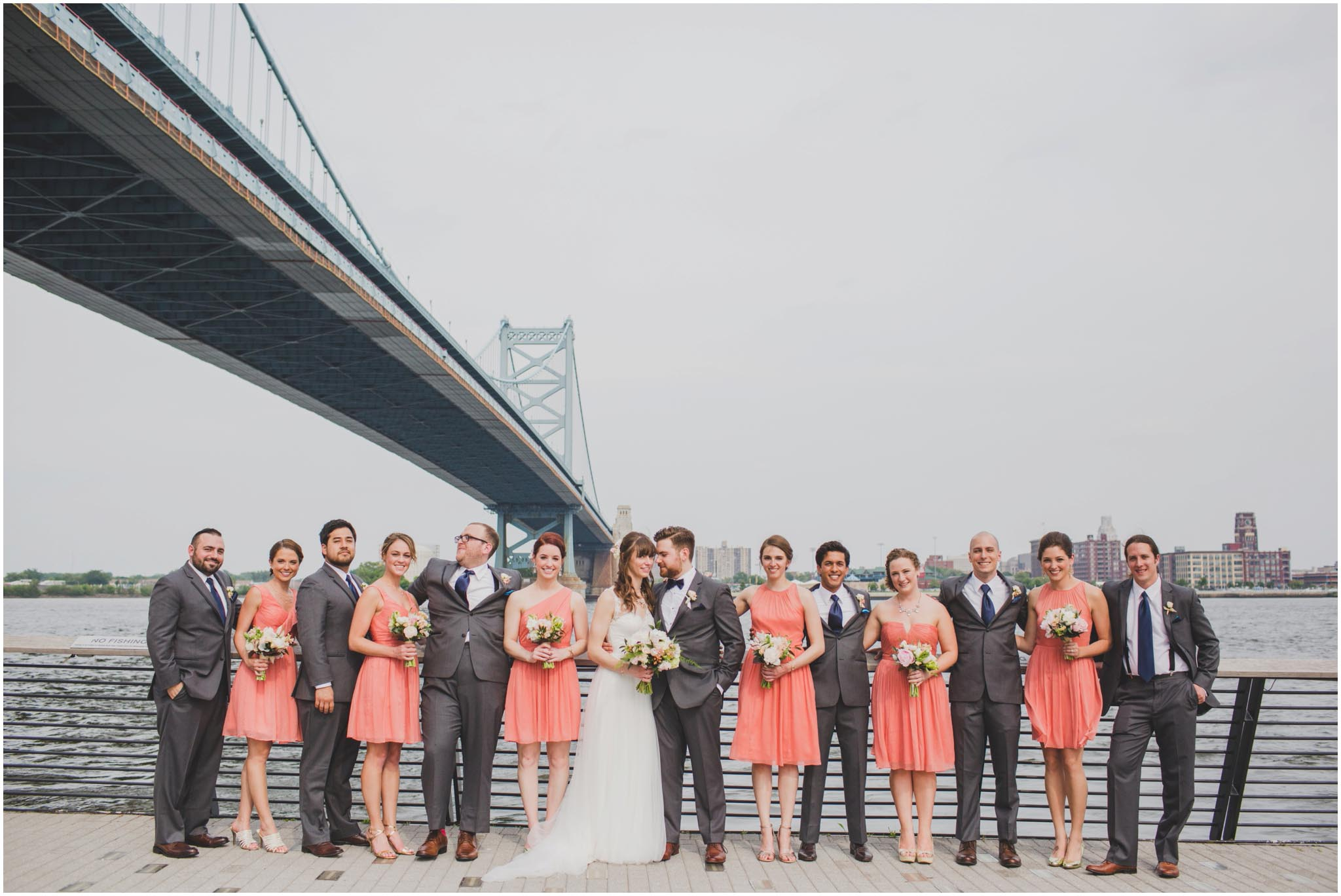 Race Street Pier, Philadelphia, wedding