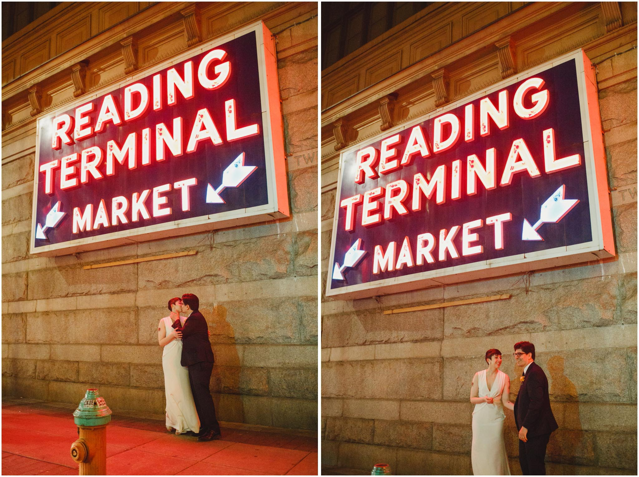 Reading Terminal Market, Philadelphia, wedding