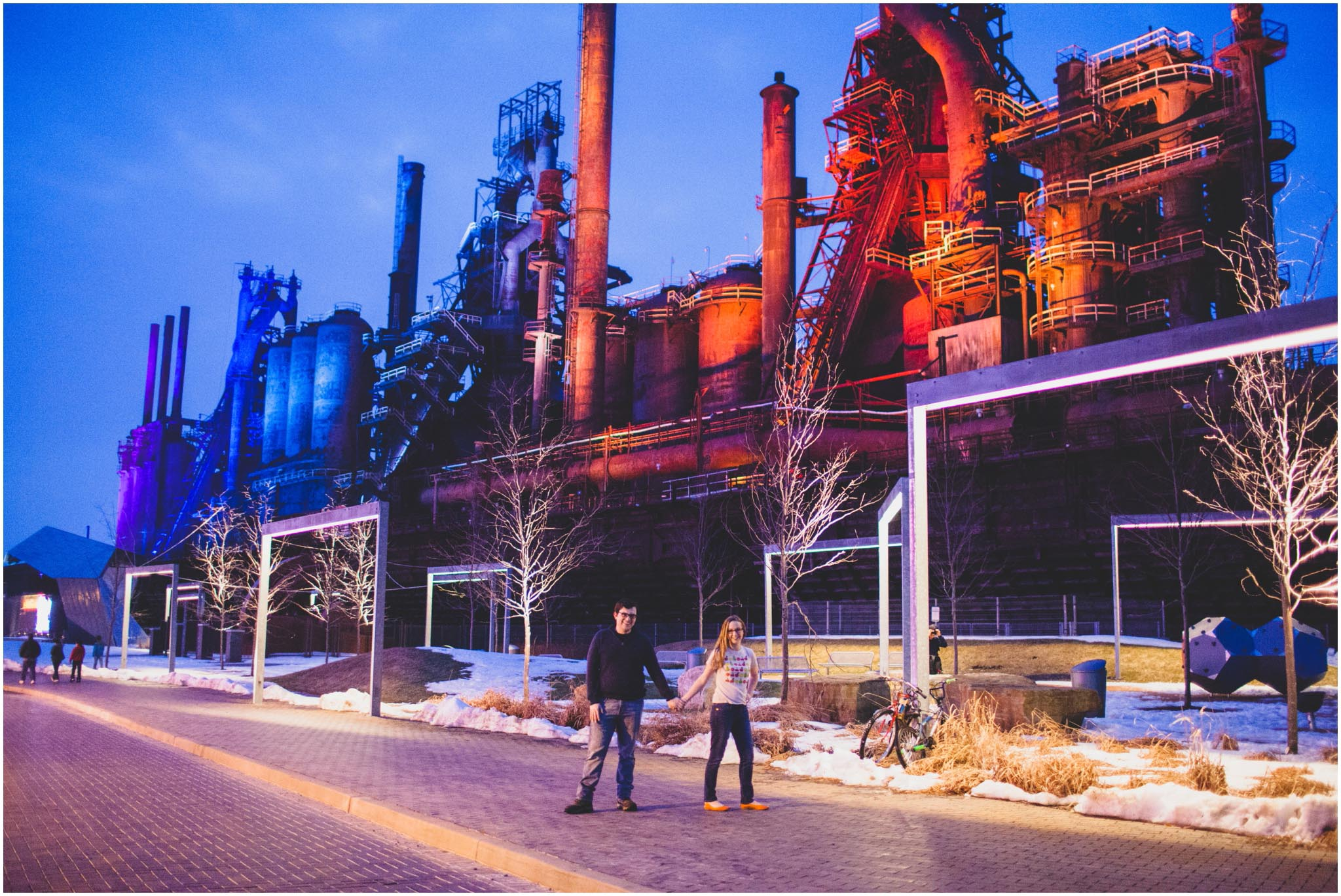 Bethlehem Steelstacks, wedding, Lehigh Valley