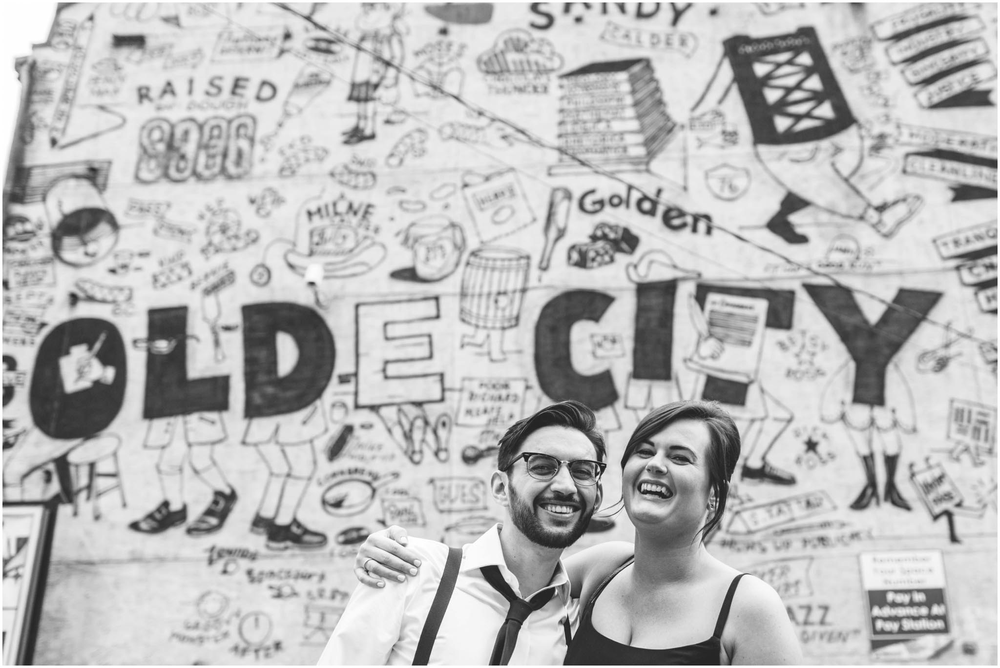 Olde City Tattoo, engagement, Philadelphia, Old City
