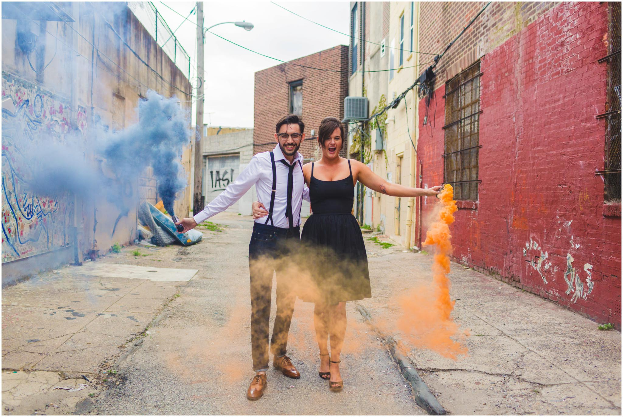 smoke bomb, engagement, grenade, Philadelphia
