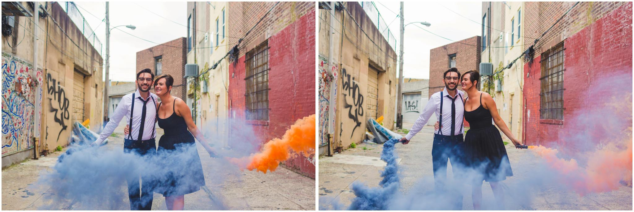 smoke bomb, engagement, smoke grenade, Philadelphia