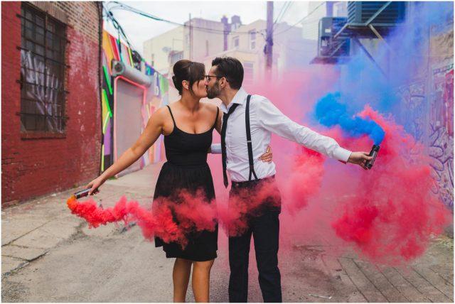 smoke bomb, engagement, smoke grenade, colorful