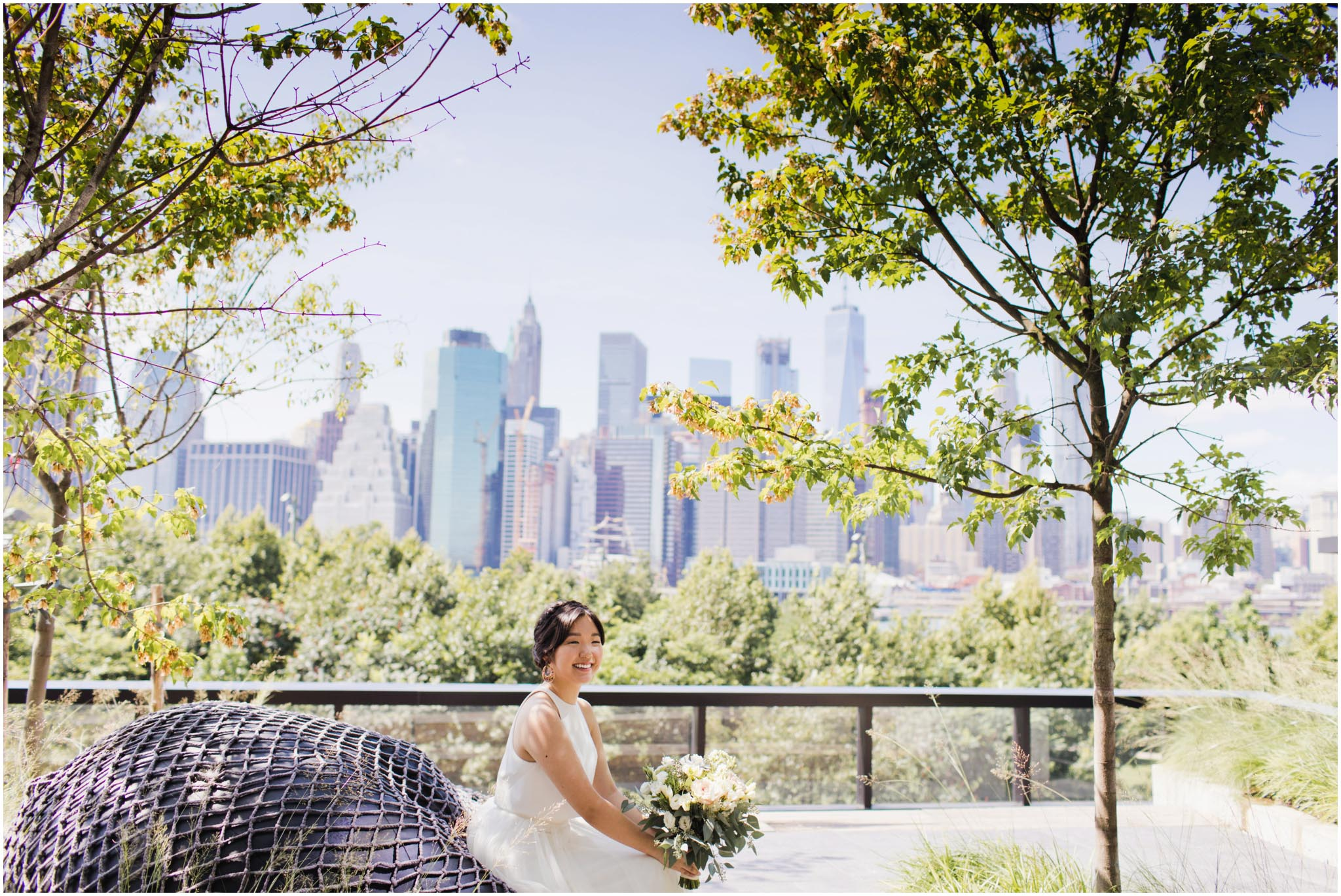 1 Hotel Brooklyn Bridge, wedding, first look