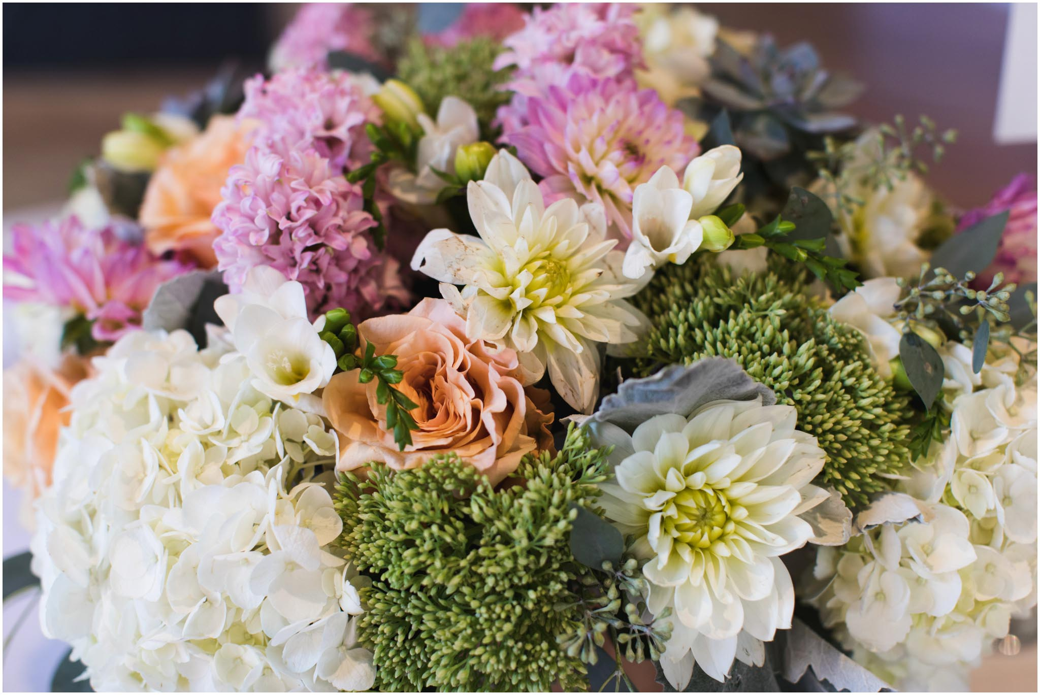 Julie's Flowers, wedding, Brooklyn, New York