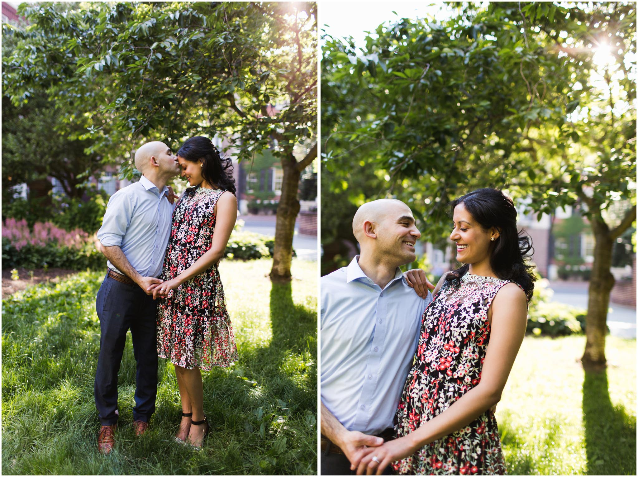 Philadelphia, engagement photos, Old City