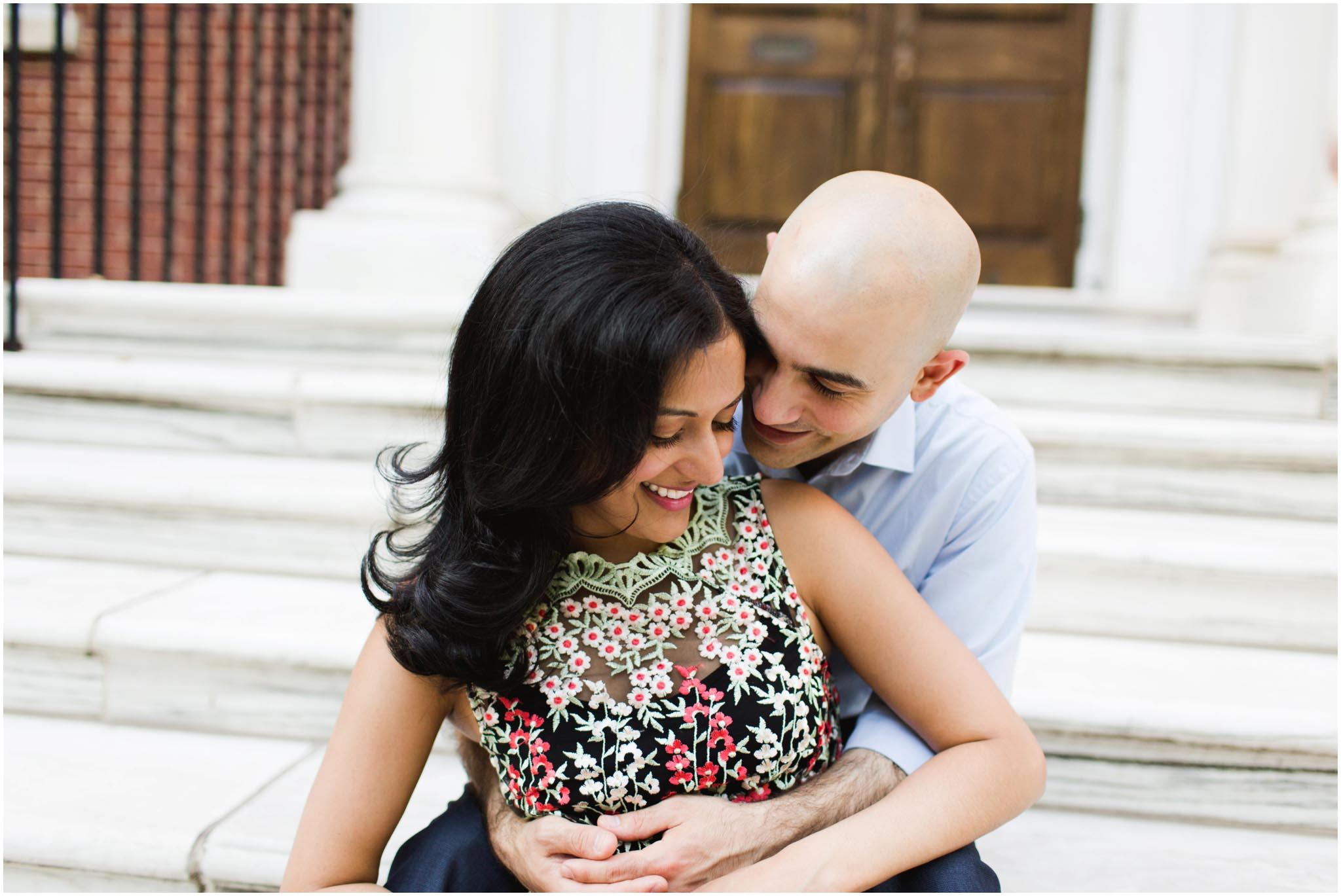 Philadelphia, engagement photos, Society Hill