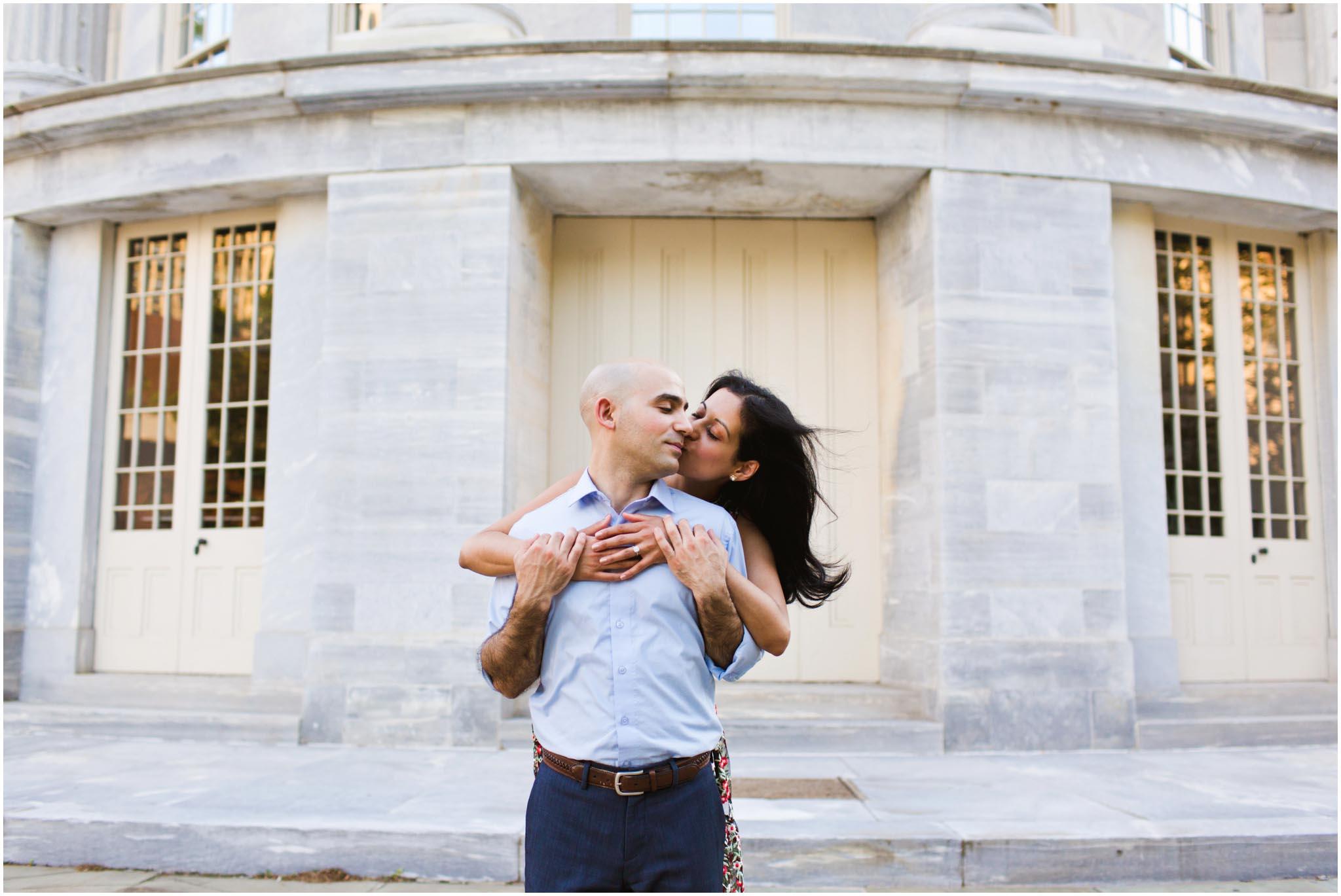 Philadelphia, engagement photos, sunset