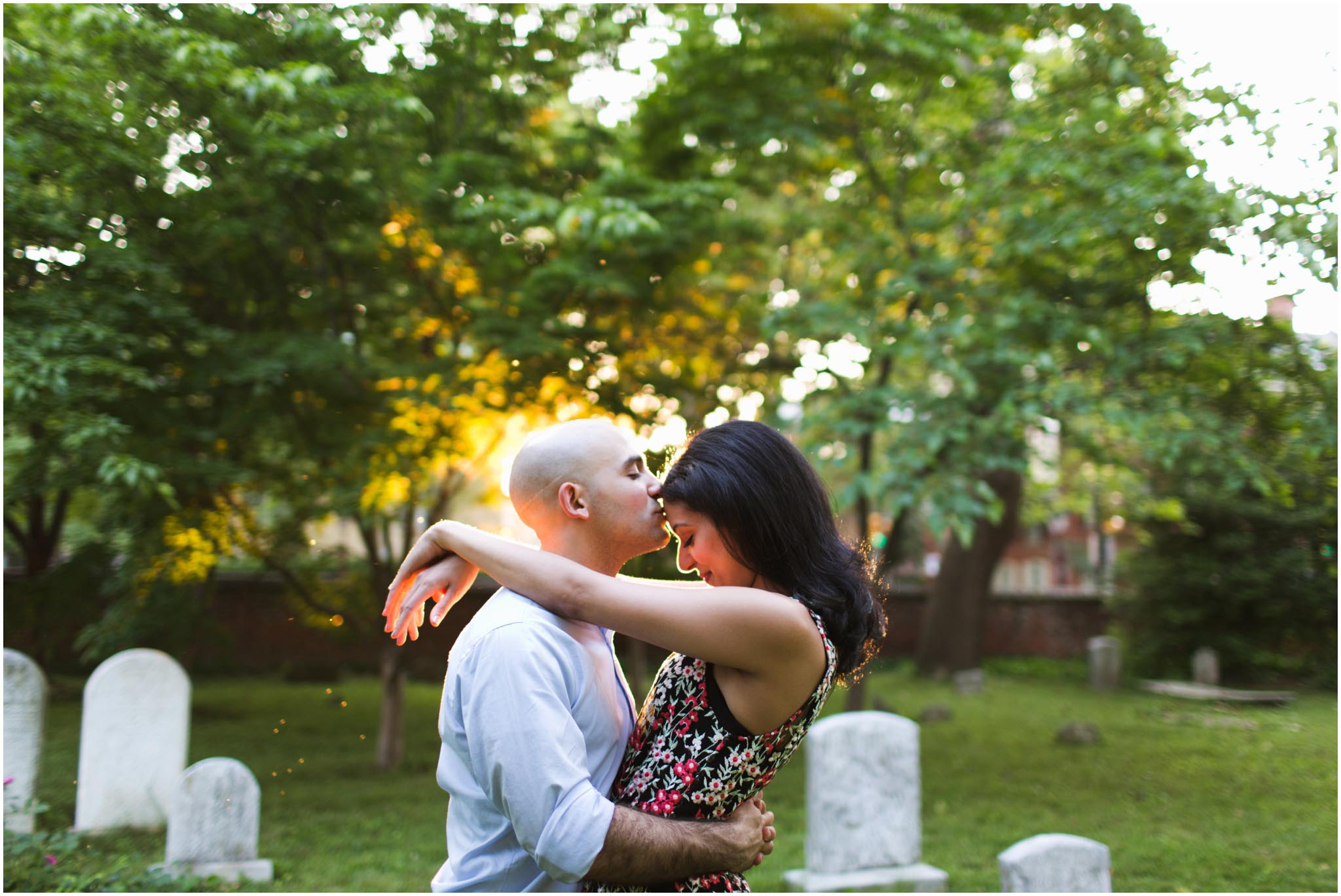 Philadelphia, engagement photos, Washington Square
