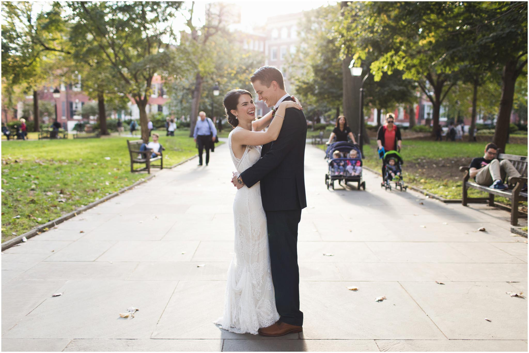 Washington Square Park, Philadelphia, wedding