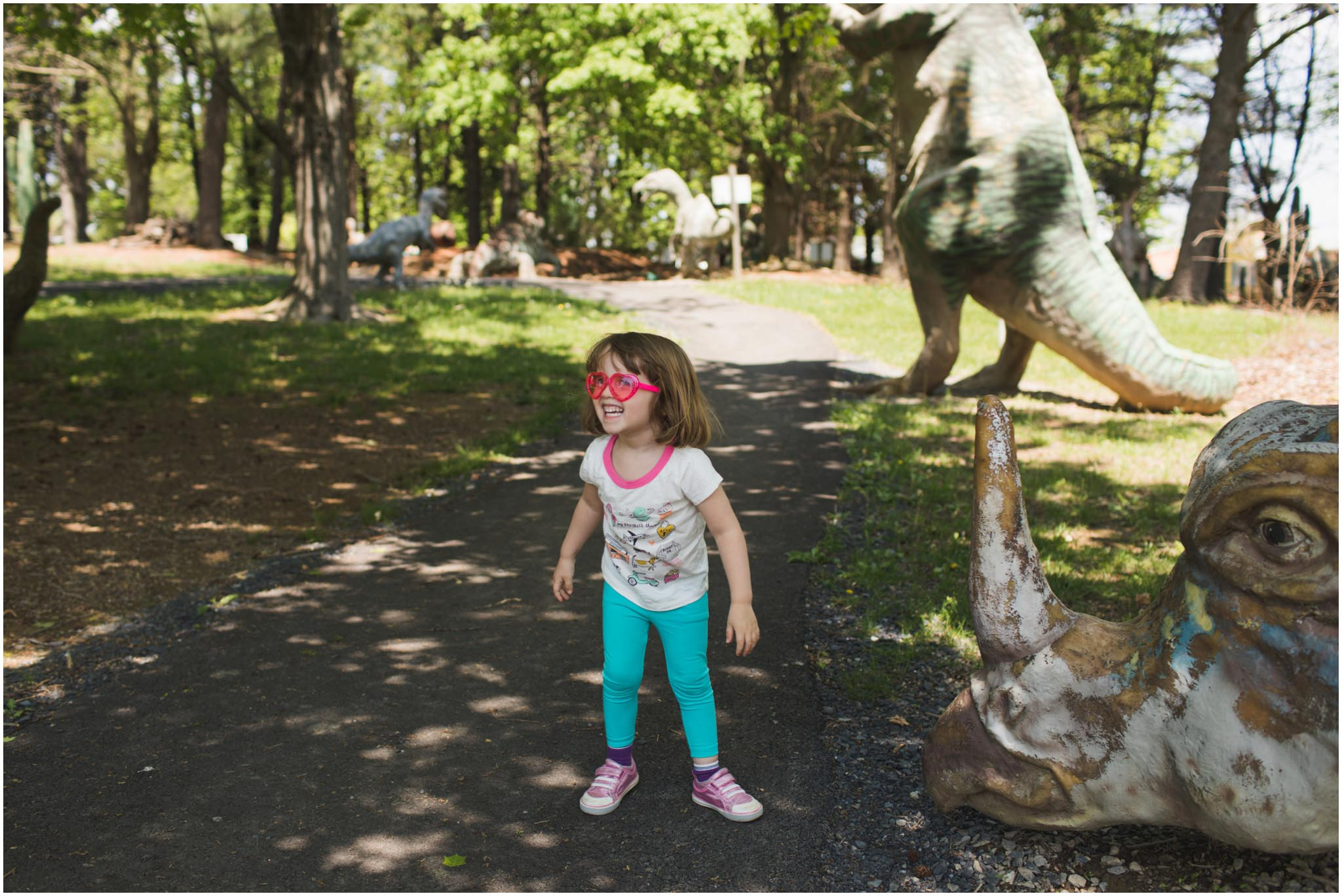 Dinosaur Land, Virginia, road trip