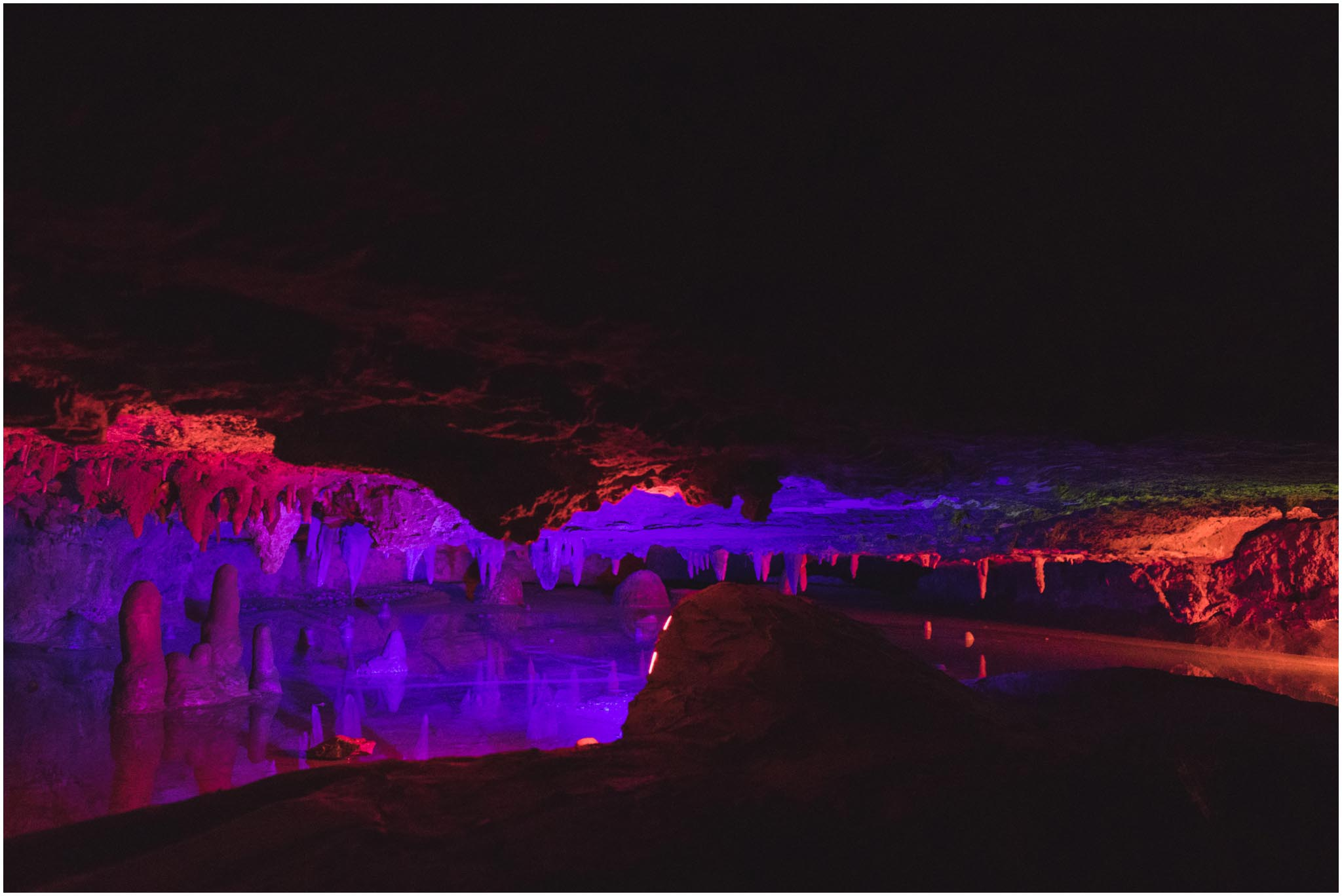 Skyline Caverns, Virginia, road trip