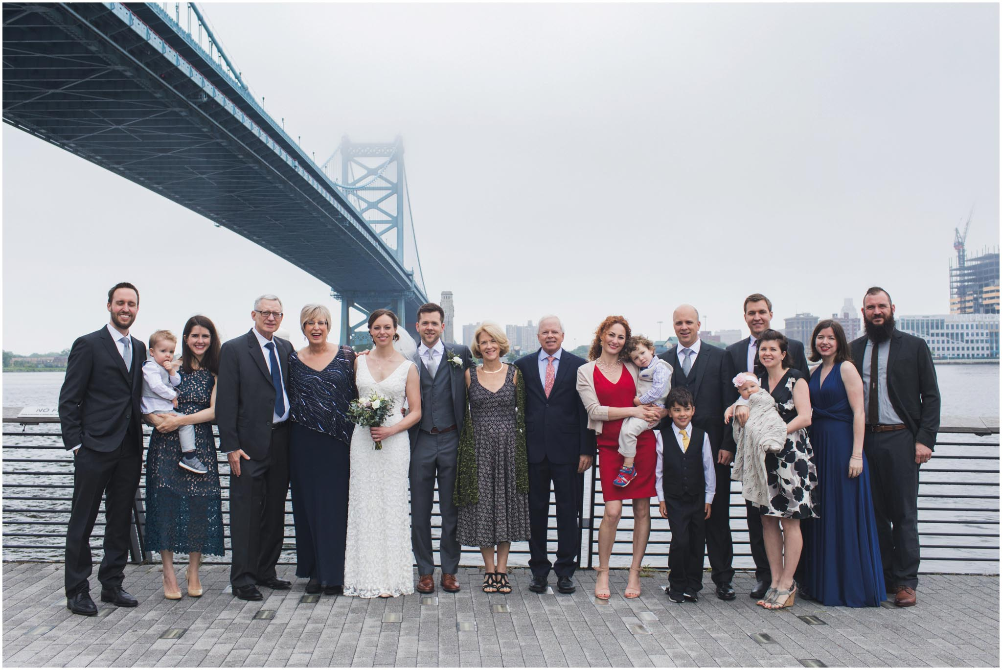Race Street Pier, wedding, Philadelphia