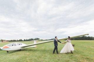 airport wedding, Philadelphia, Bucks County