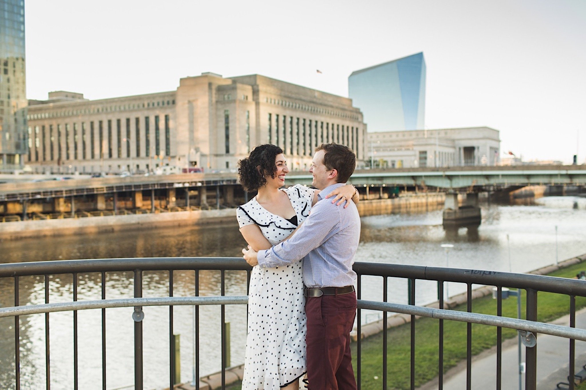 Schuylkill River Park, engagement, Philadelphia