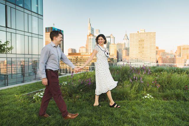 Cira Green, engagement photos, Philadelphia