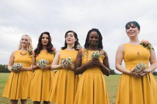 bridesmaids, emotional, crying