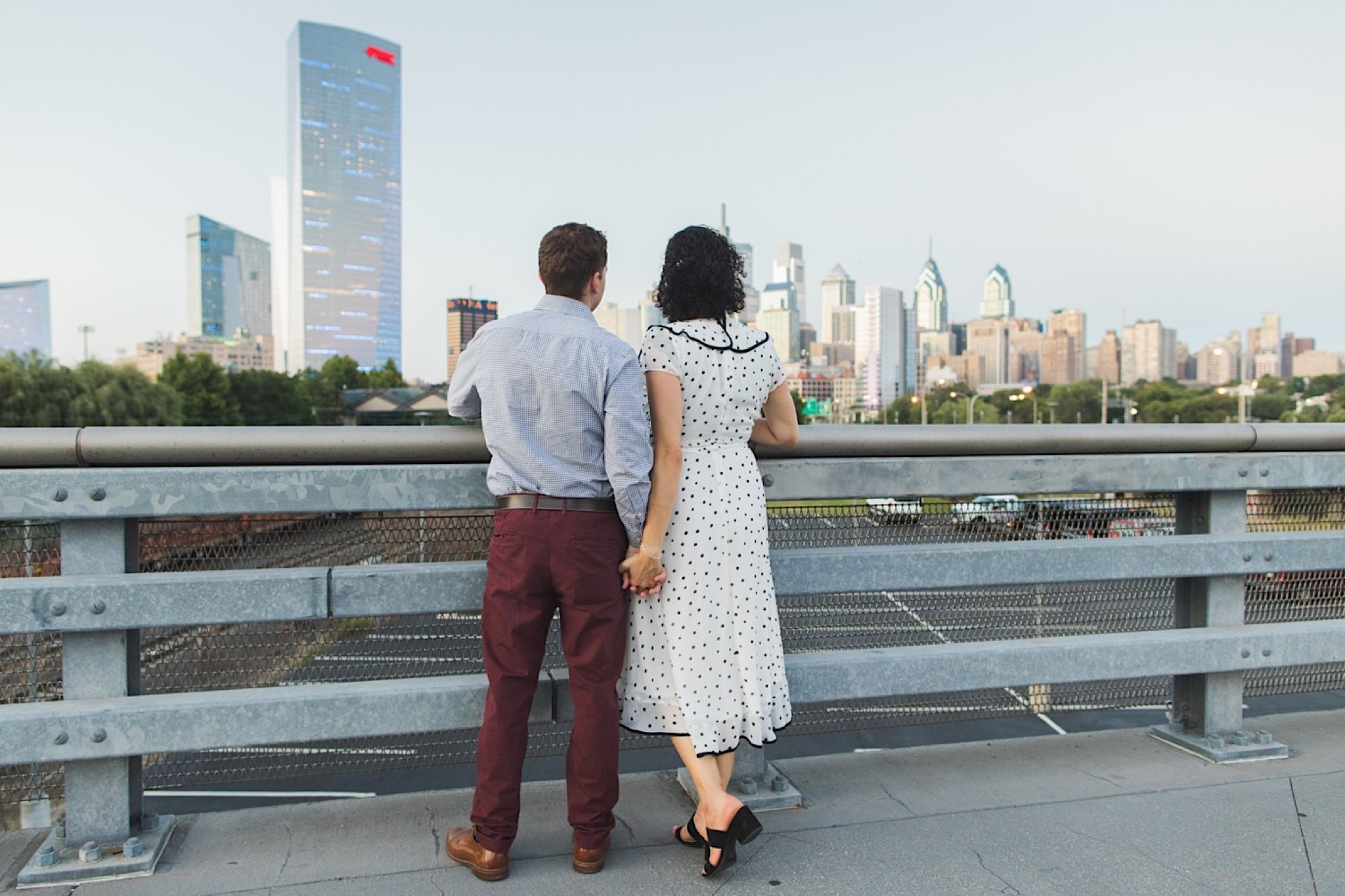 South Street Bridge, Philadelphia, engagement