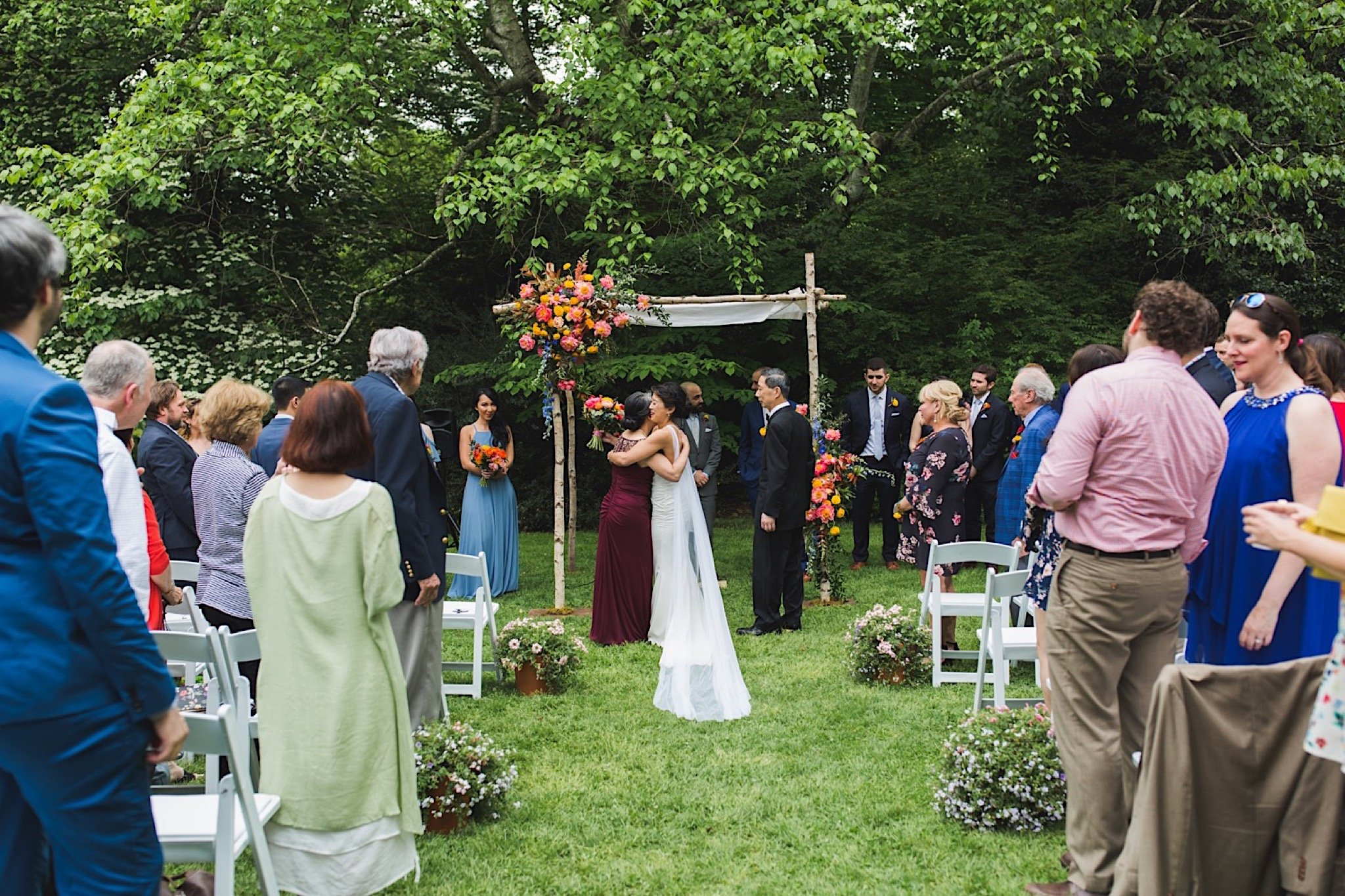Awbury Arboretum, wedding, ceremony, Philadelphia