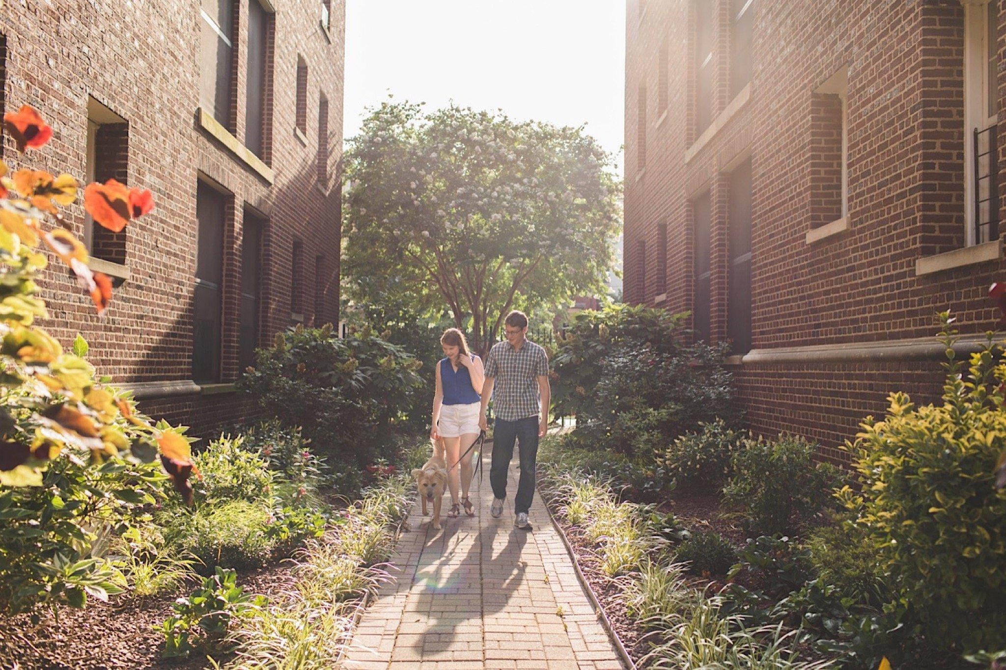 Malcolm X Park, Washington DC, engagement
