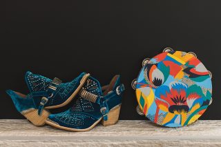tambourine, wedding, shoes