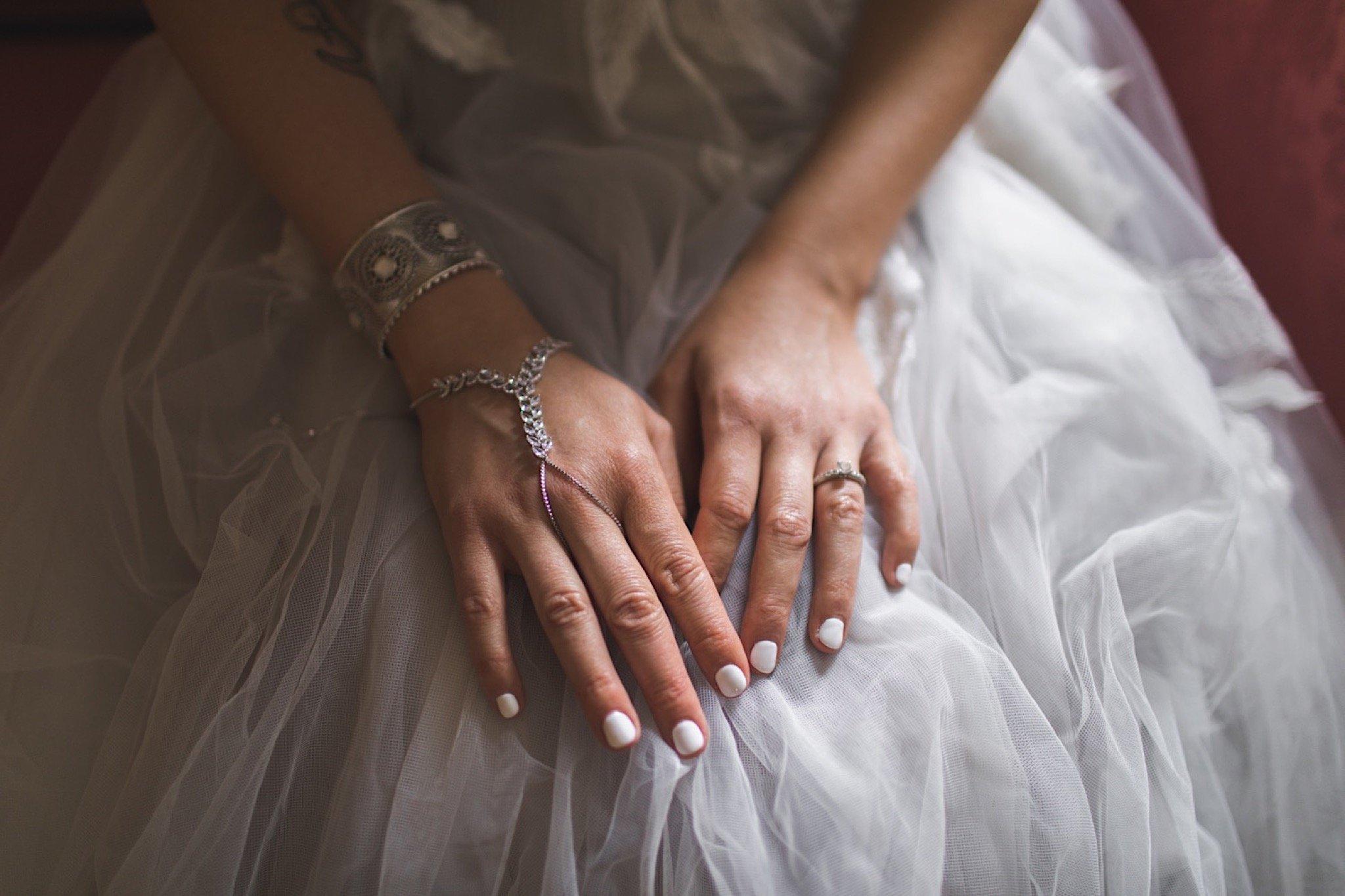 bride, BHLDN, gown