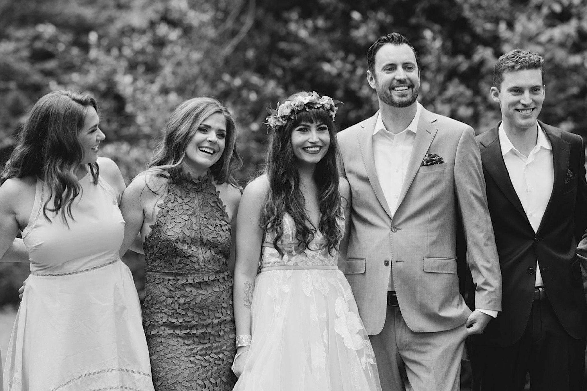 wedding party, Philadelphia