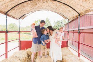 Maple Acres Farm, family photography