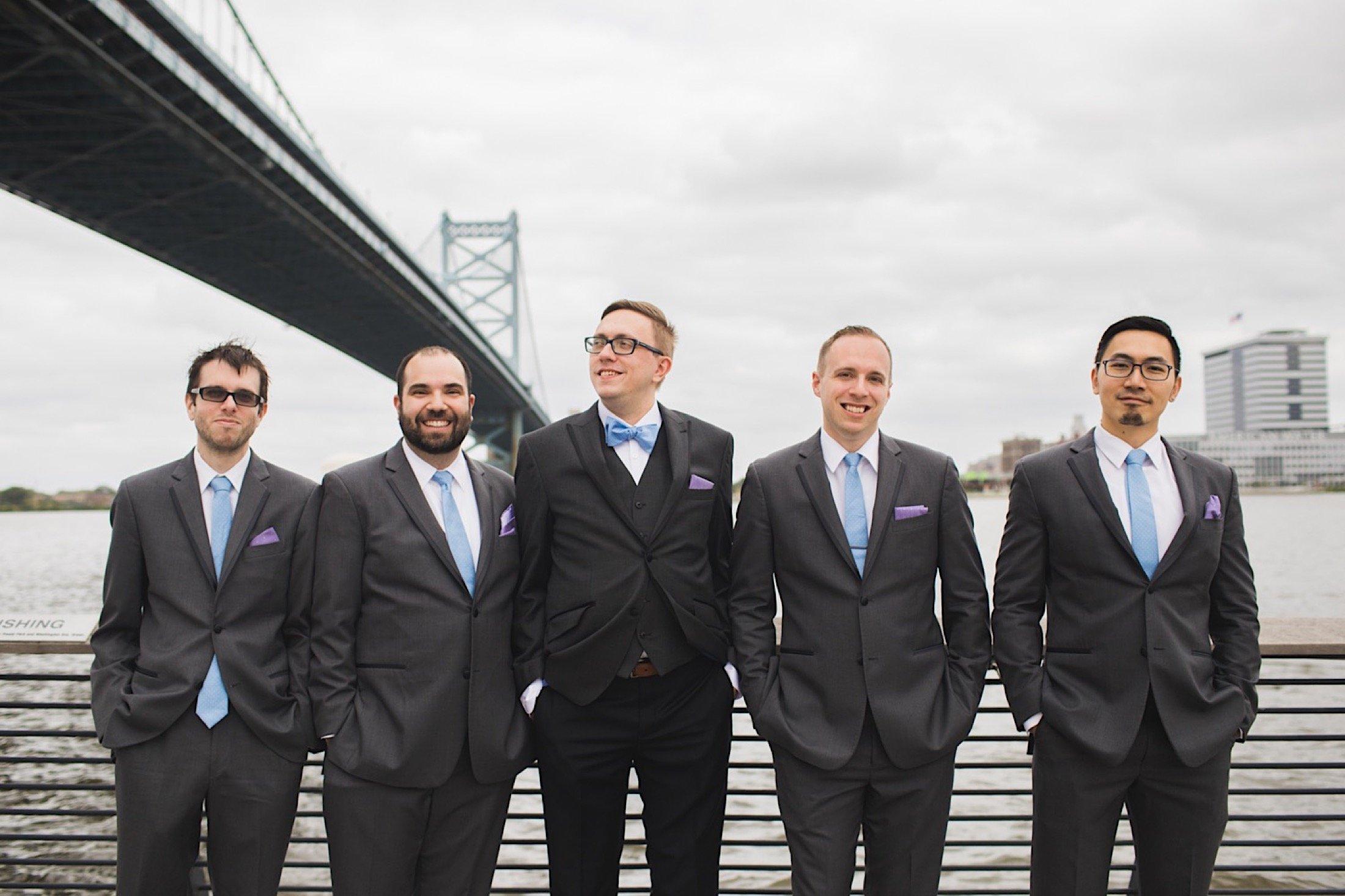 Race Street Pier wedding, photography