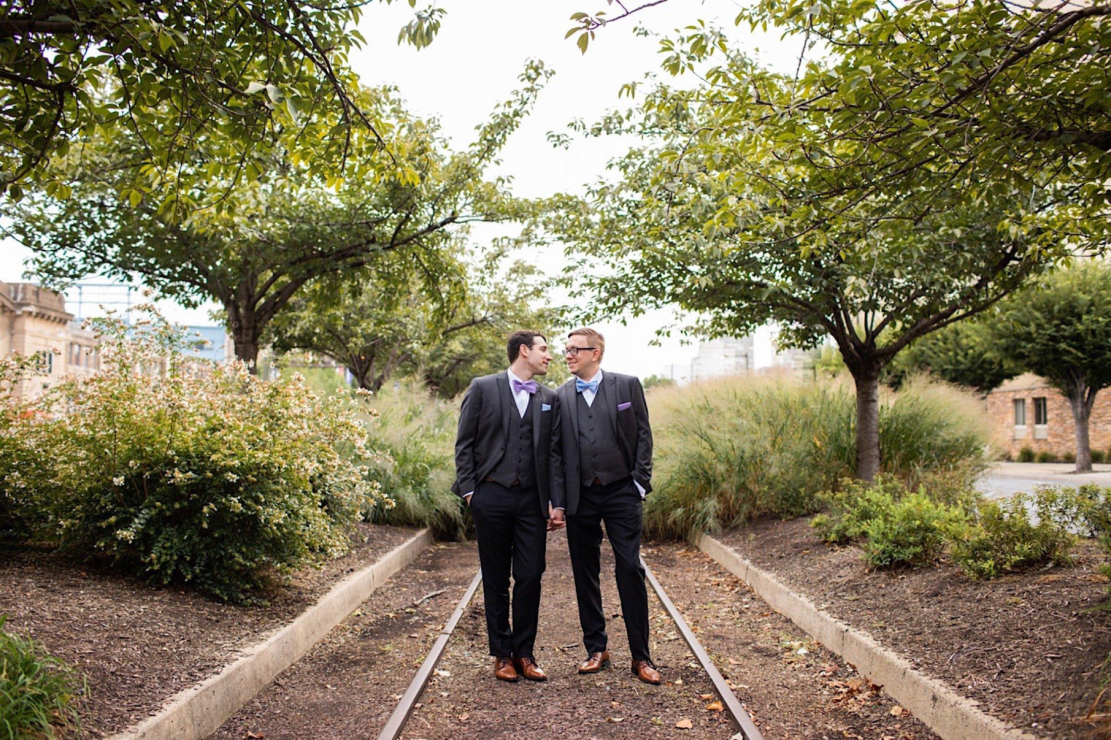 LGBTQ Philadelphia wedding, Old City