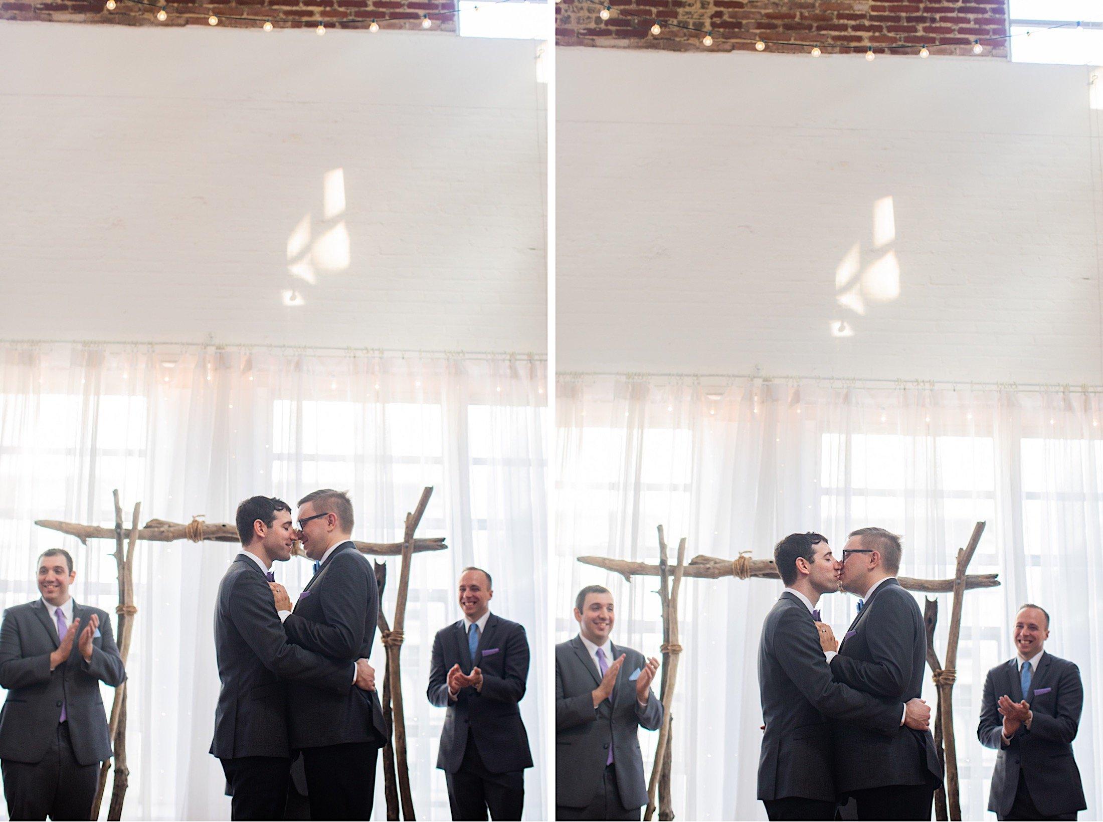 Philadelphia same-sex wedding photographer