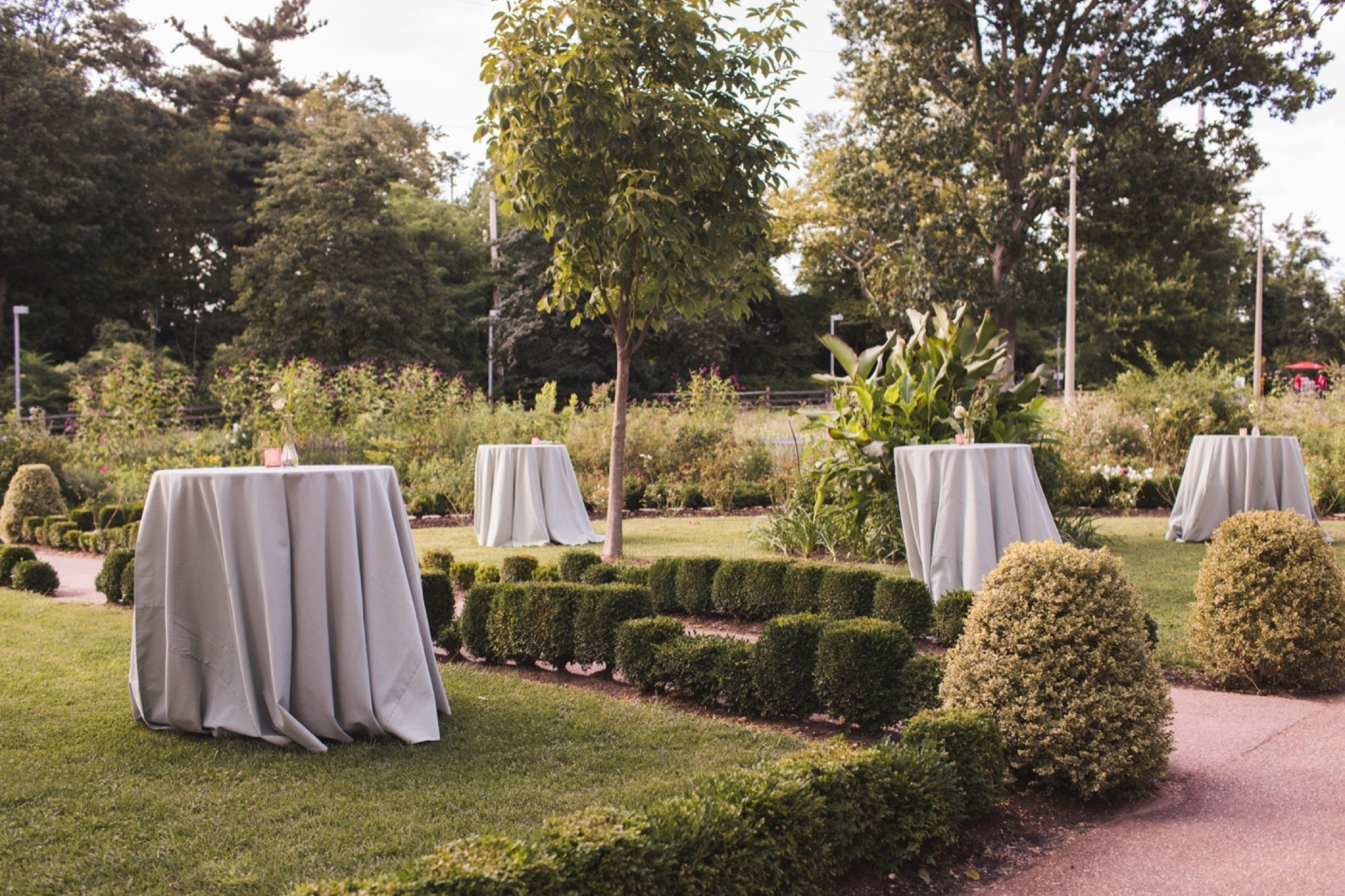 Bartram's Garden, wedding