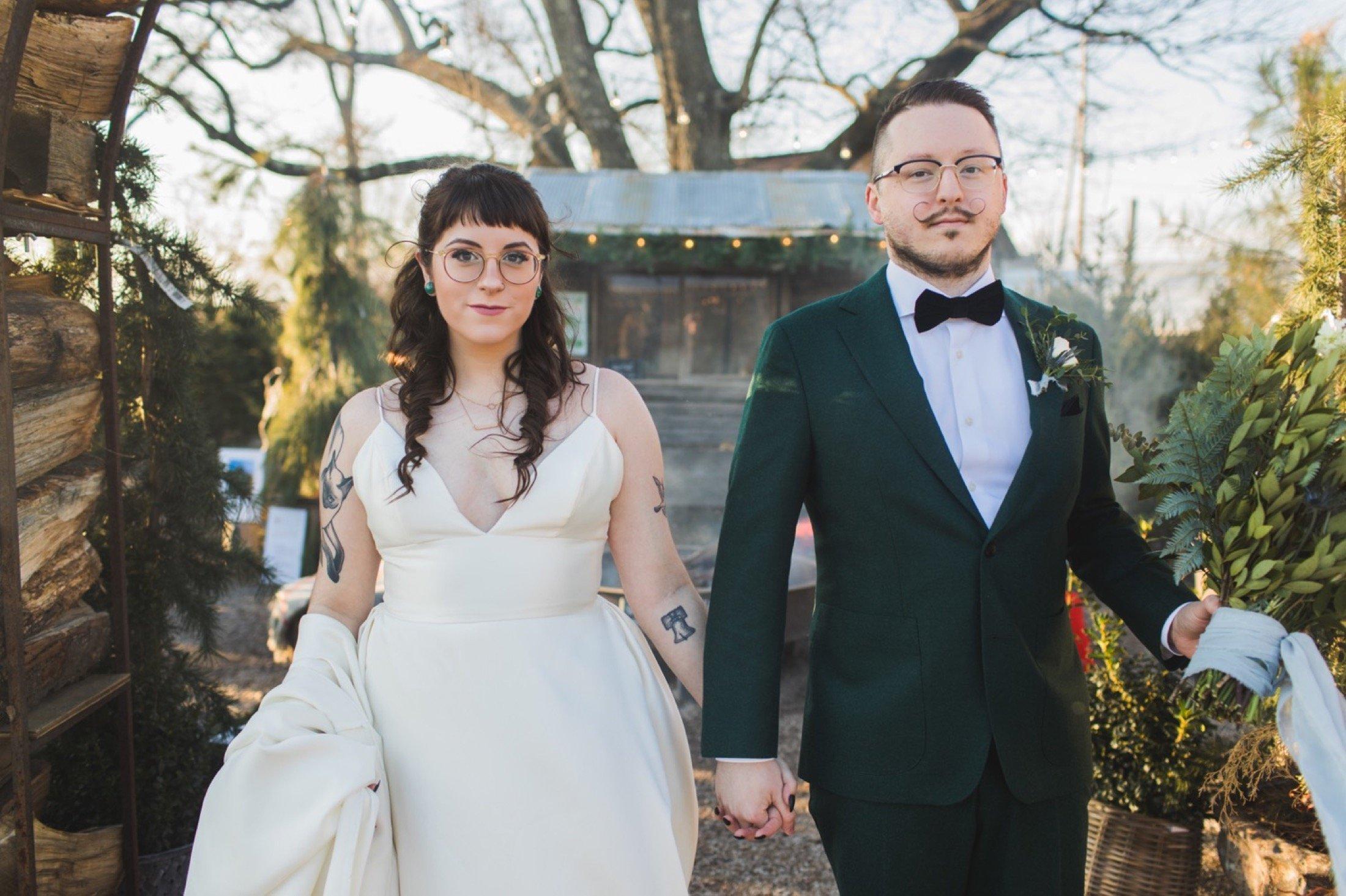 Terrain, wedding, fire pit