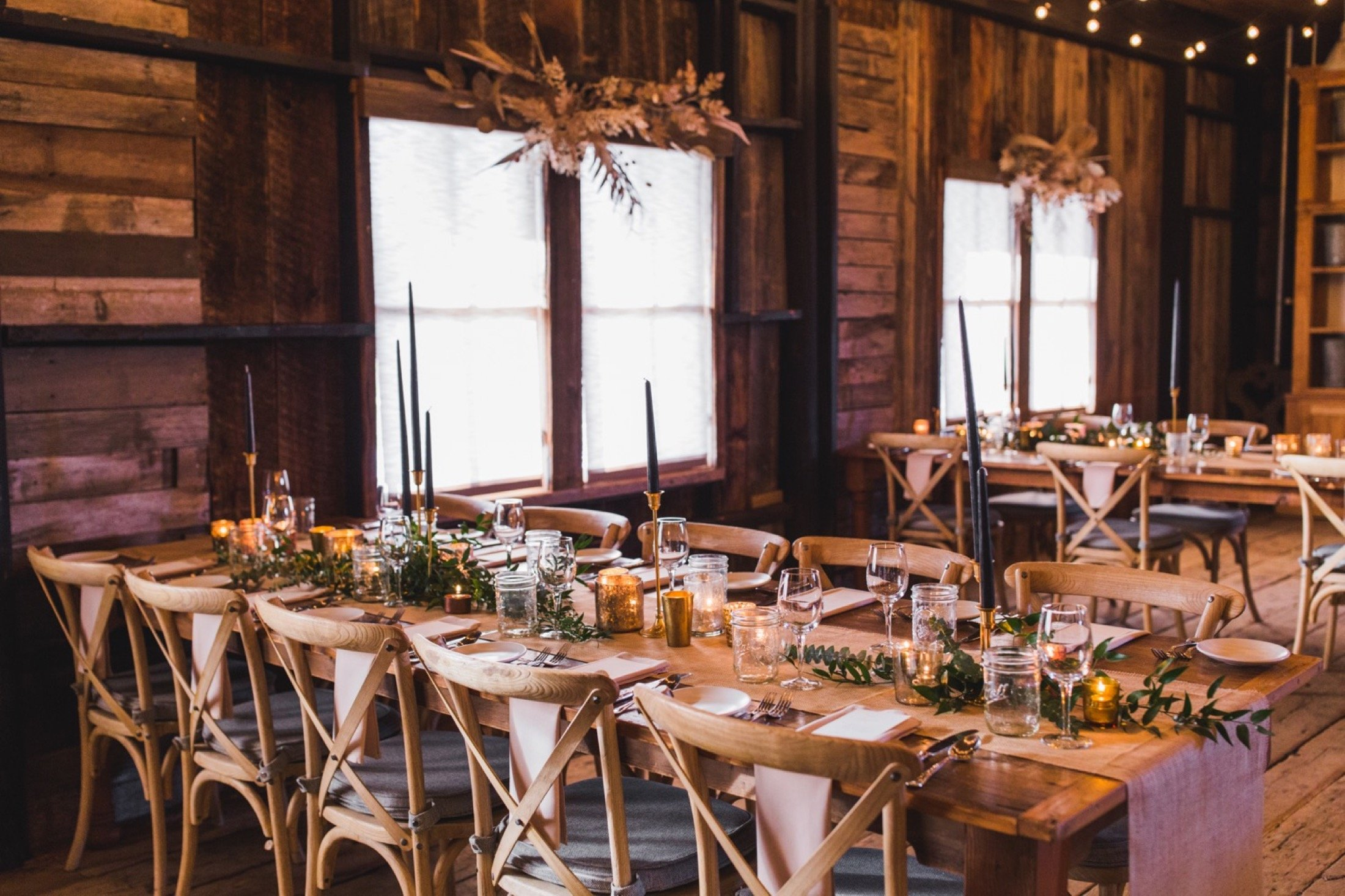 Terrain, winter wedding, indoor, reception