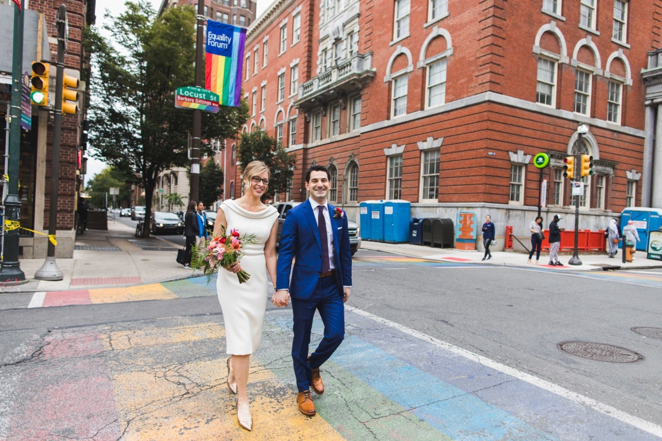 Gayborhood, Philadelphia, wedding, portraits