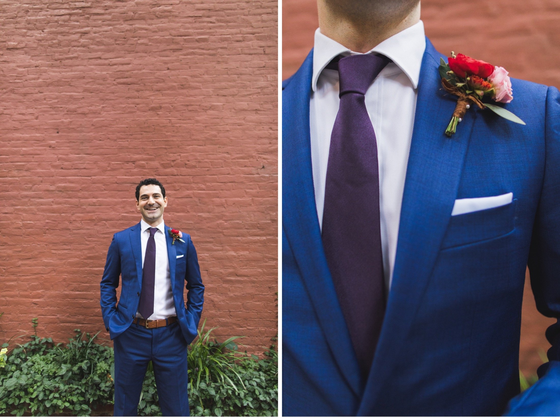 portraits, groom, wedding, Philadelphia