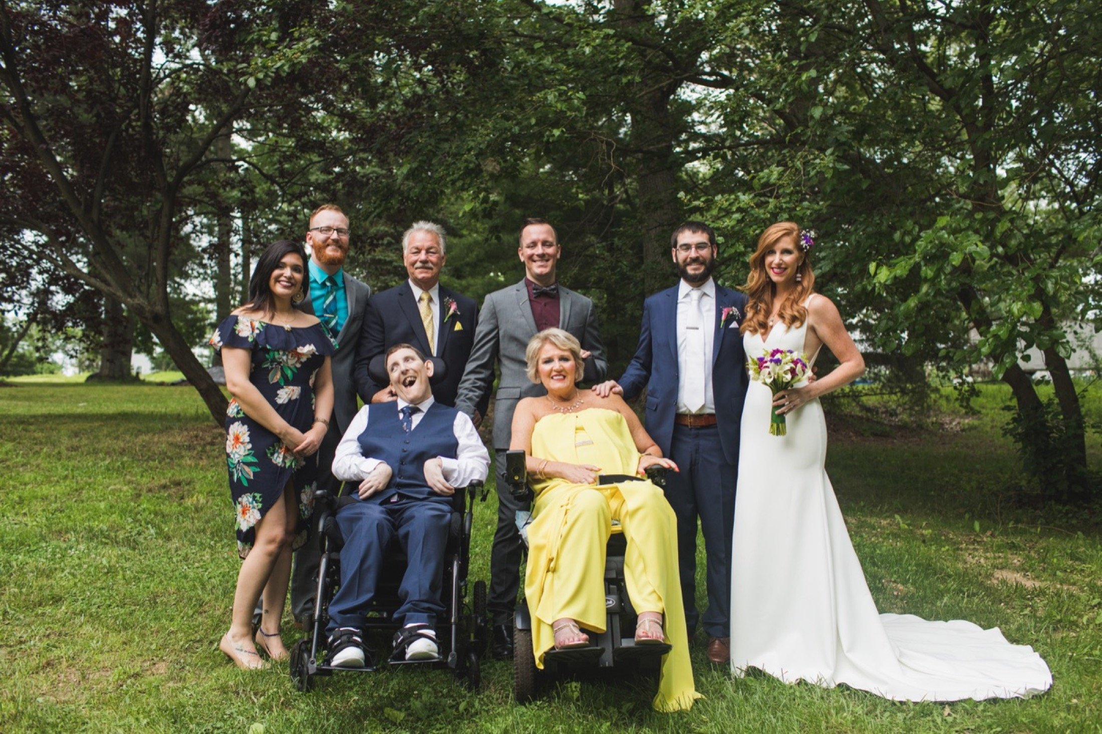 family, grieving, wedding planning, loss