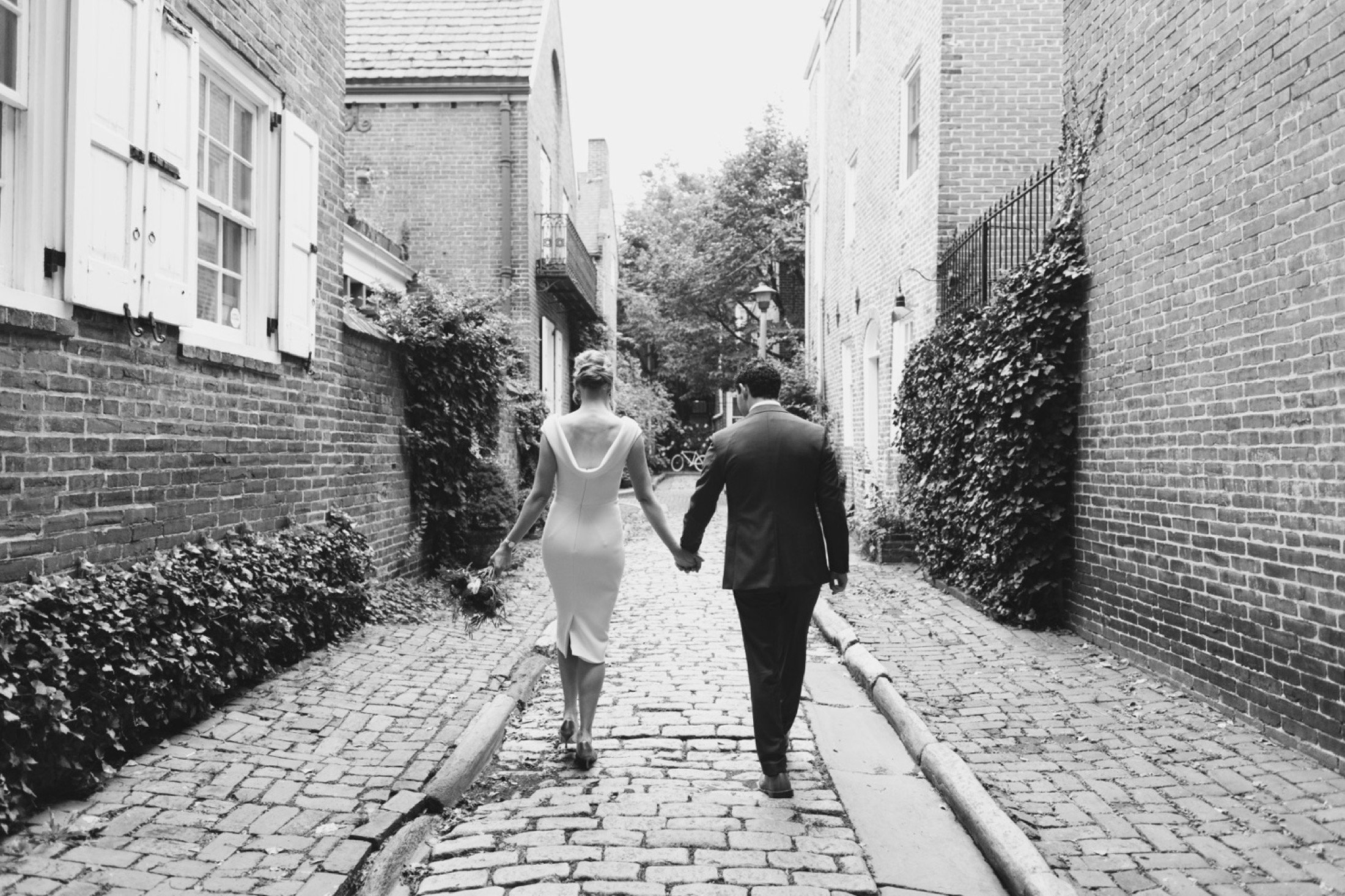 Philadelphia, wedding photography, portraits, cobblestone