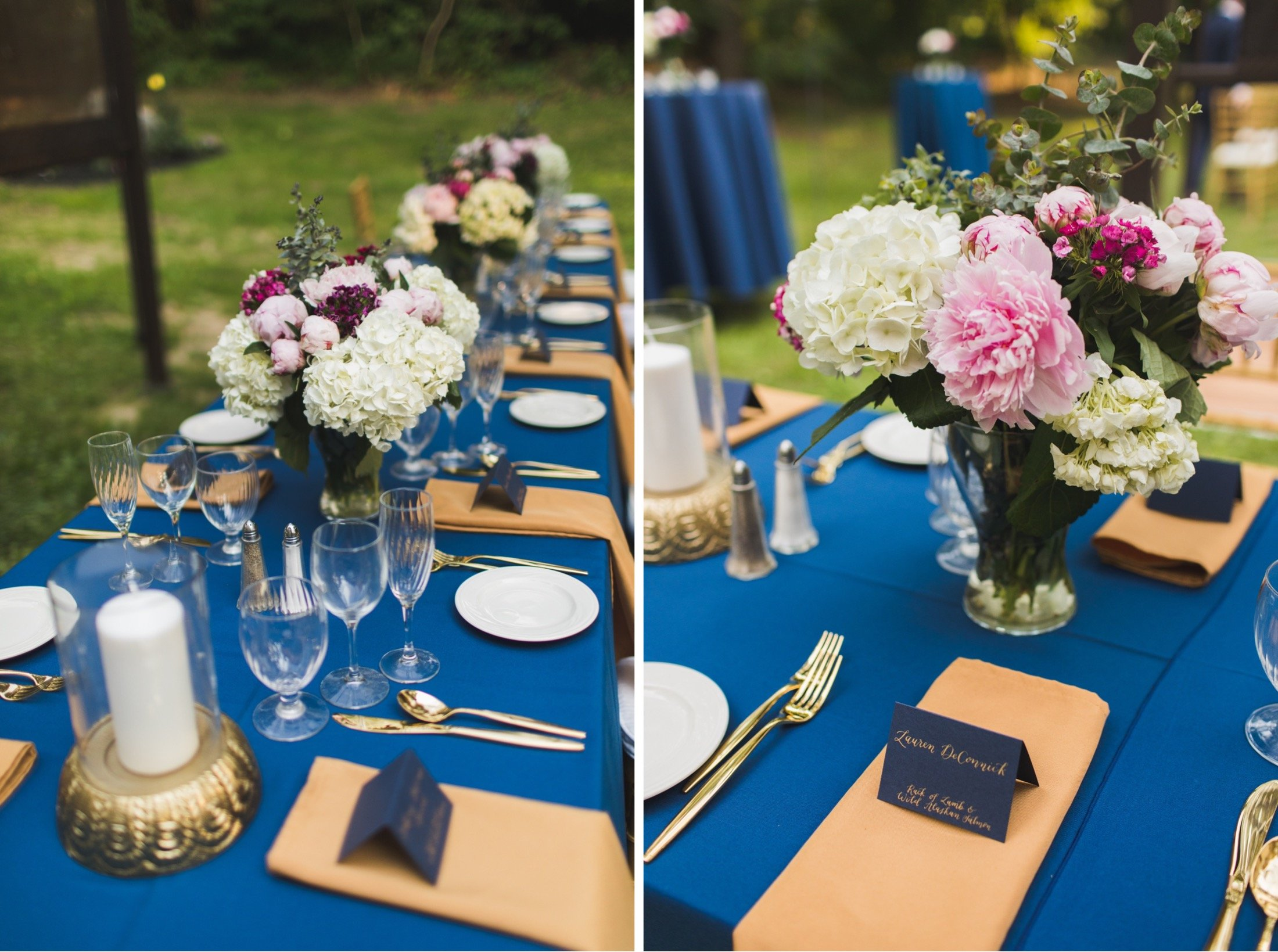 intimate wedding, backyard, dinner, Philadelphia