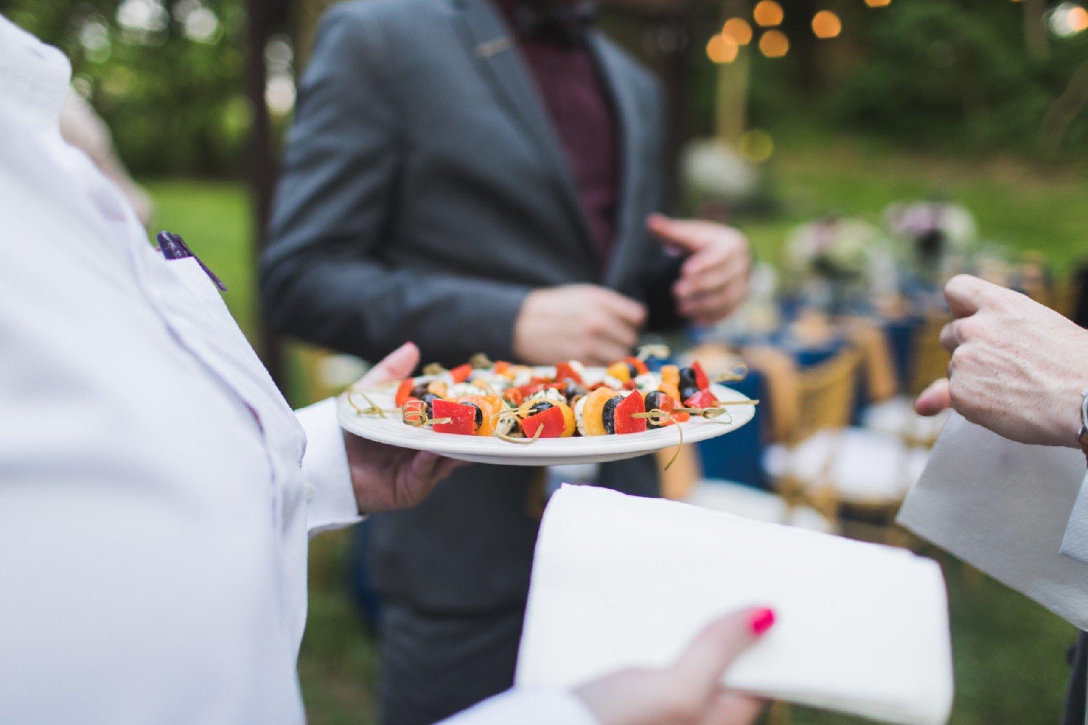 intimate wedding, backyard, dinner, New Jersey